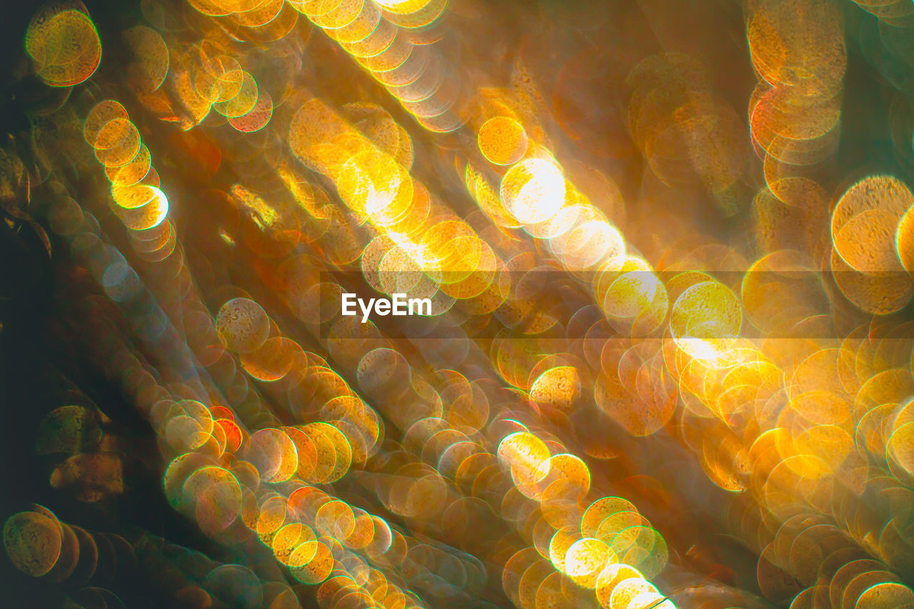 full frame, backgrounds, no people, pattern, yellow, close-up, indoors, illuminated, day, undersea