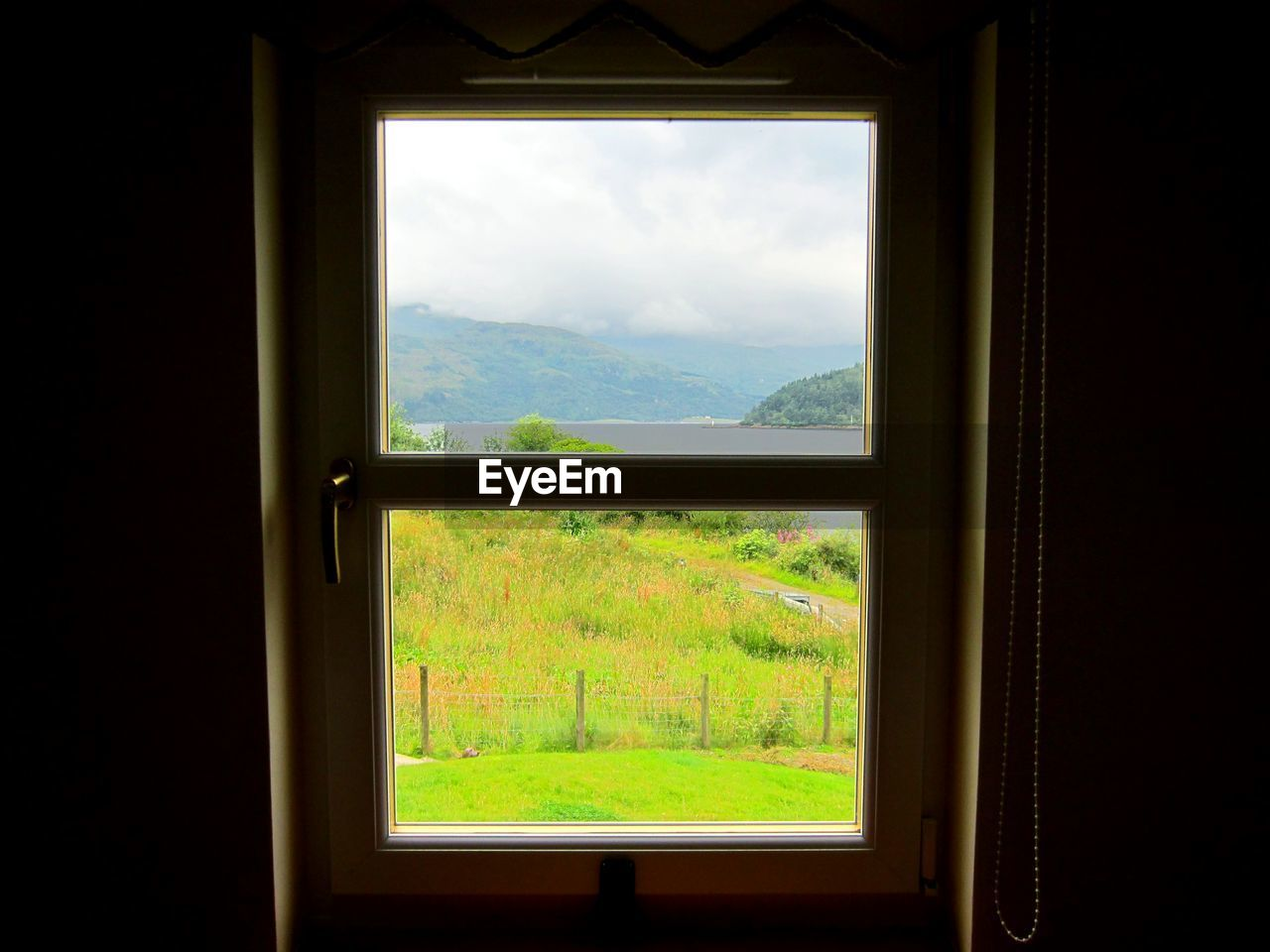 window, tree, indoors, green color, nature, no people, day, growth, home interior, mountain, scenics, sky, architecture, close-up, beauty in nature