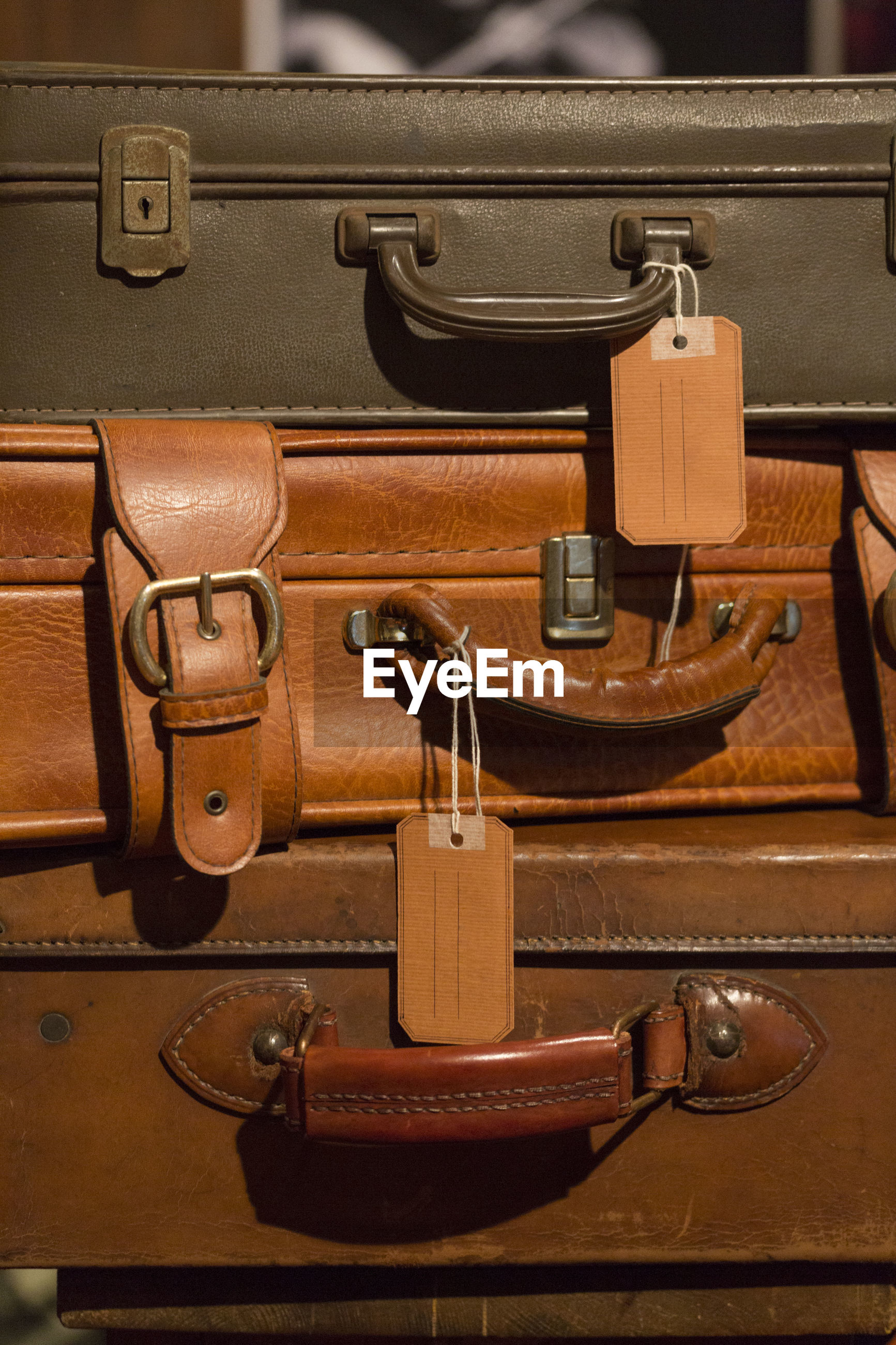 Close-up of luggage