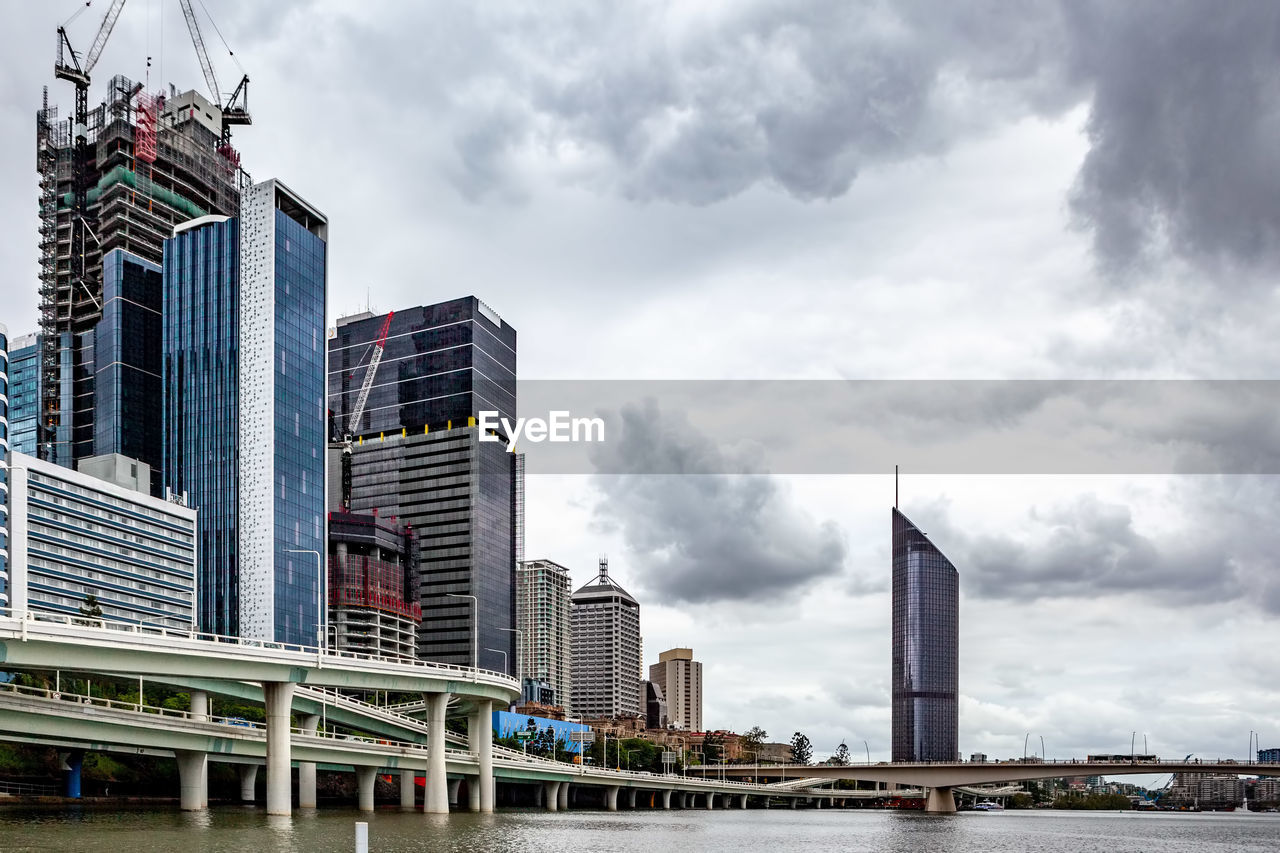 built structure, architecture, building exterior, building, sky, city, office building exterior, modern, skyscraper, cloud - sky, office, tall - high, tower, no people, day, nature, downtown district, outdoors, urban skyline, low angle view, cityscape, financial district, spire