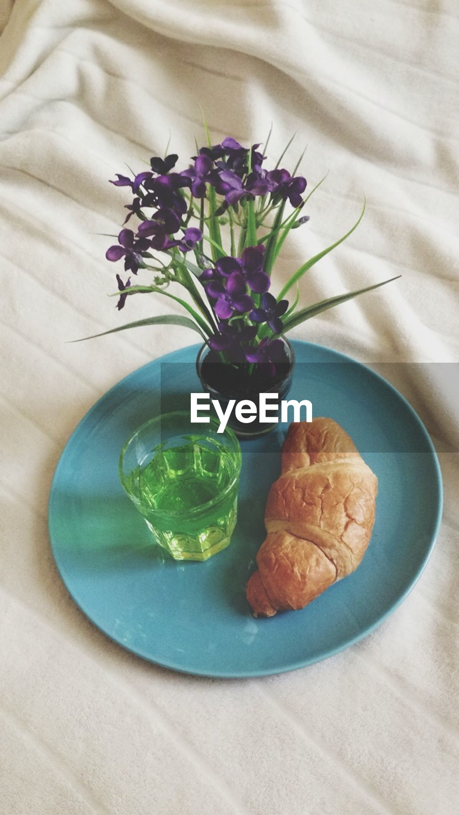 indoors, flower, freshness, table, high angle view, still life, vase, close-up, fragility, leaf, no people, glass - material, potted plant, petal, home interior, plant, directly above, flower head, drink, food and drink