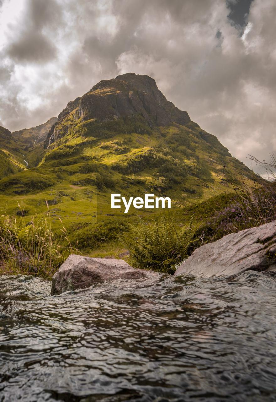 The scottish highlands are amazing