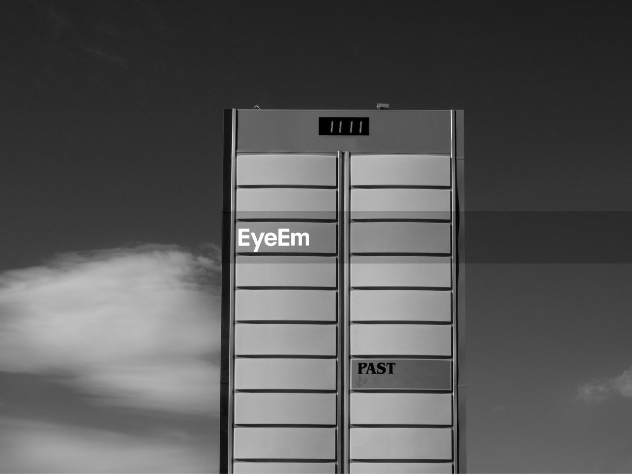 communication, text, western script, sign, no people, information, cloud - sky, capital letter, indoors, information sign, number, sky, wall - building feature, built structure, technology, architecture, safety, entrance, door, white color