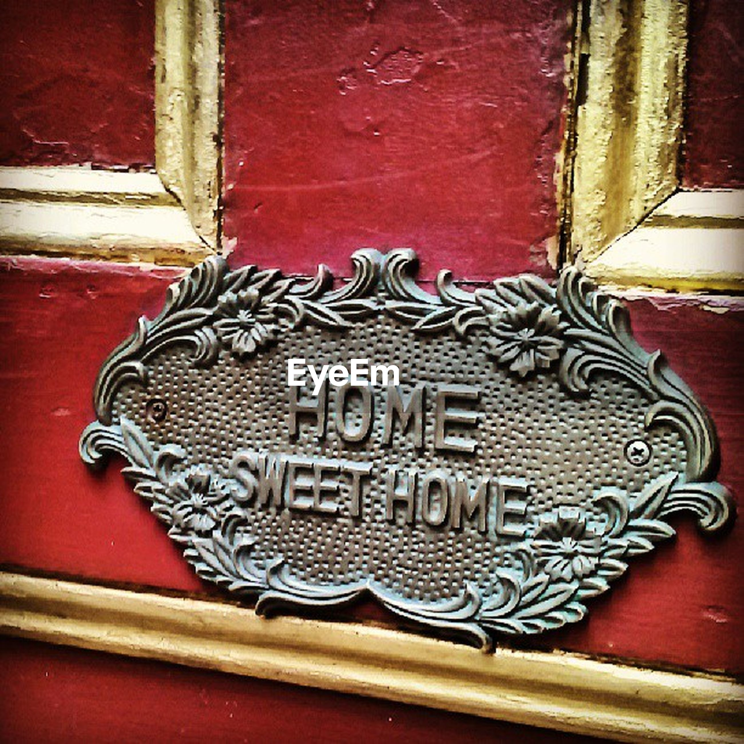 close-up, red, indoors, built structure, wood - material, architecture, design, art and craft, wall - building feature, old, door, pattern, building exterior, art, ornate, no people, wall, metal, creativity, house