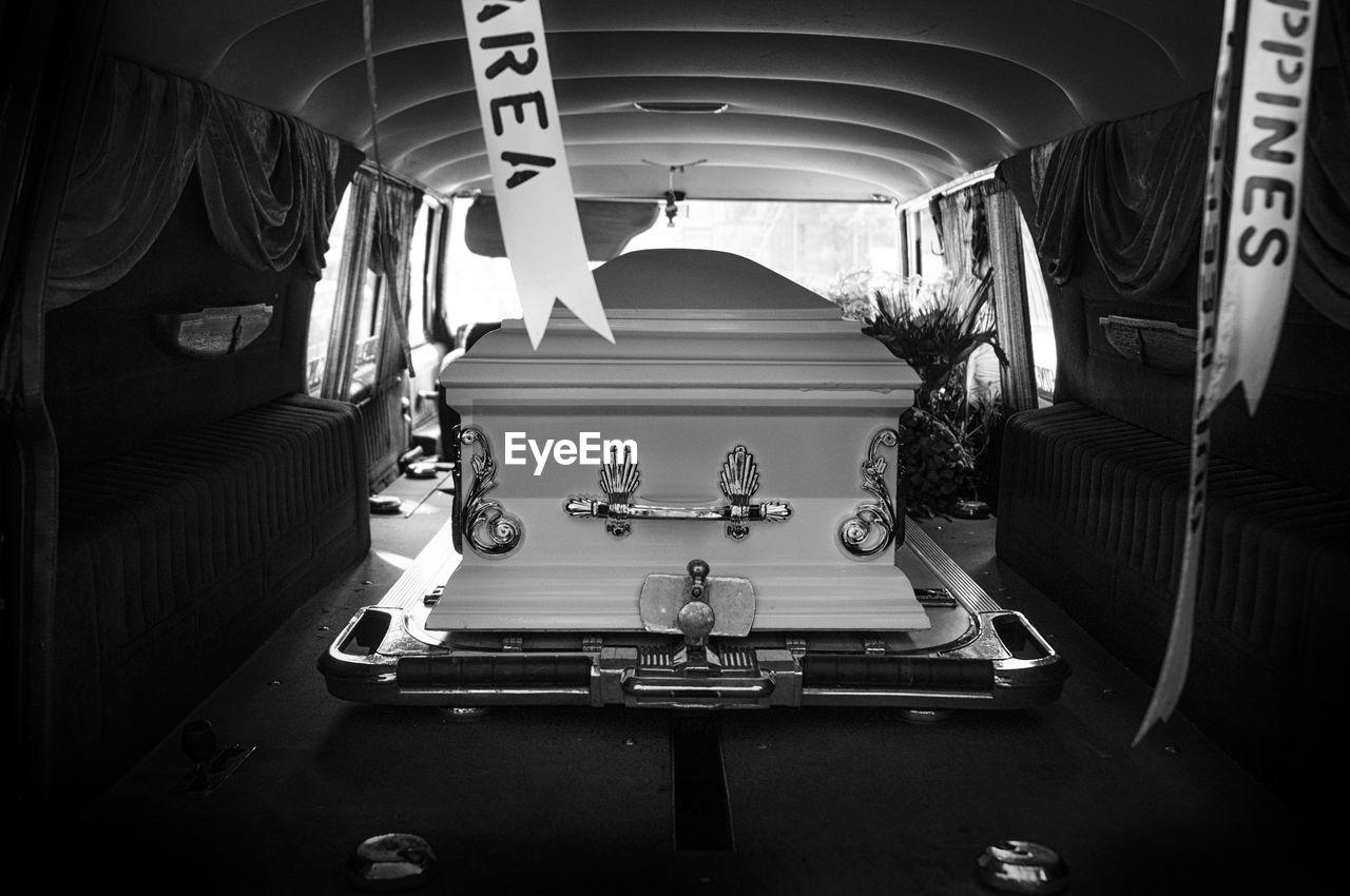 Coffin In Van
