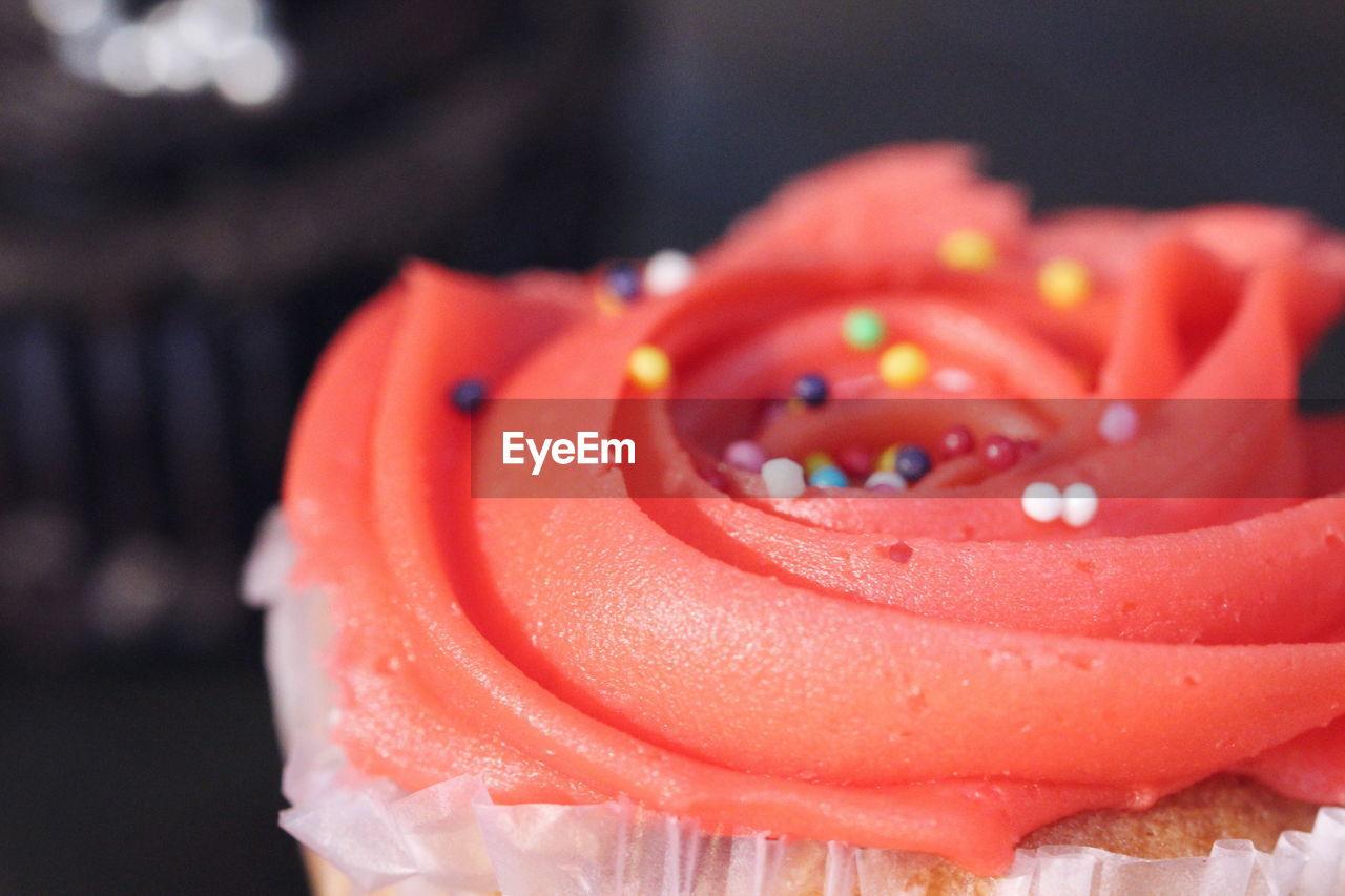 Close-Up Of Cupcake