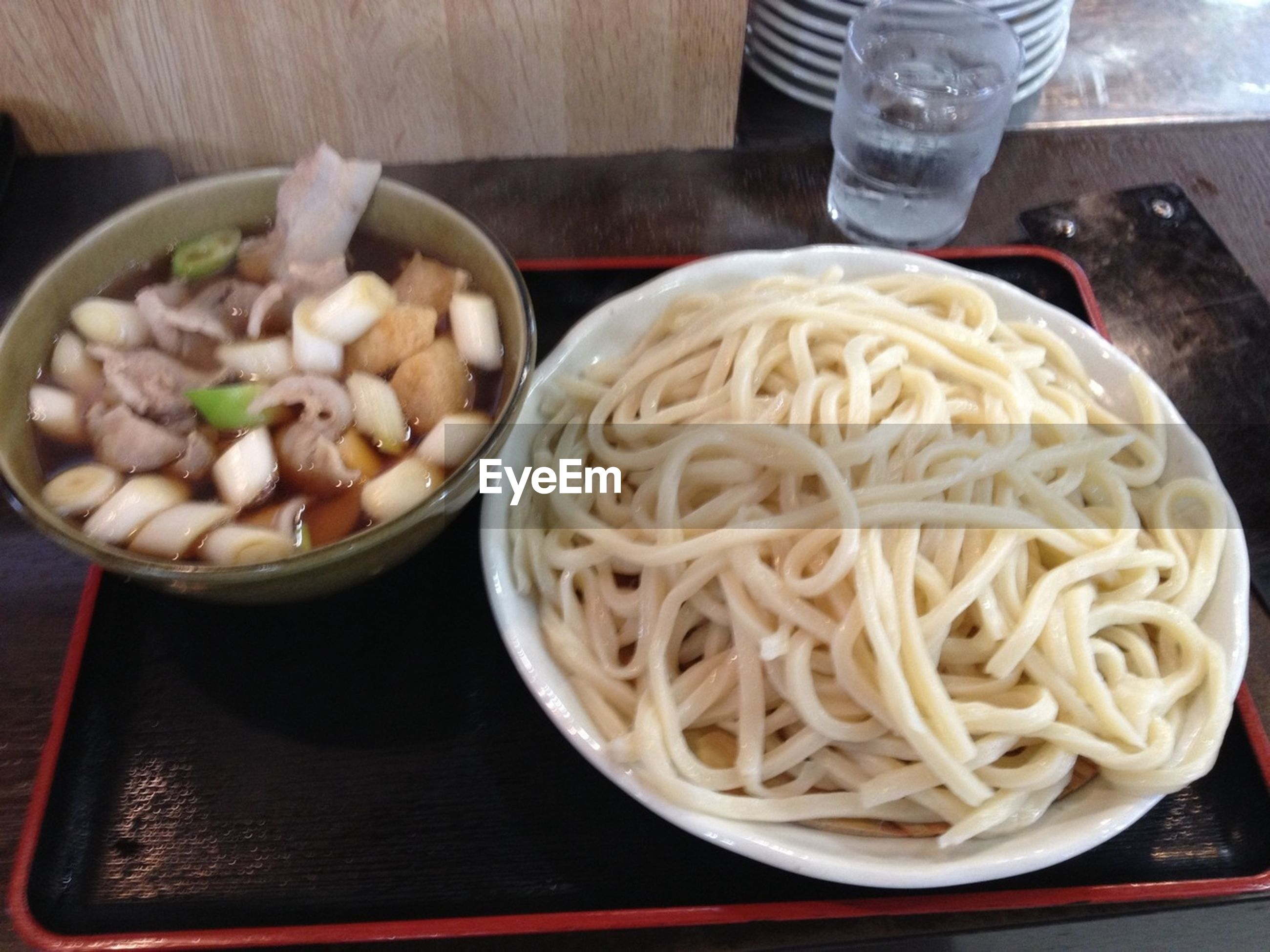 food and drink, indoors, food, freshness, noodles, bowl, ready-to-eat, healthy eating, table, still life, high angle view, plate, pasta, meal, serving size, close-up, chopsticks, vegetable, spoon, spaghetti