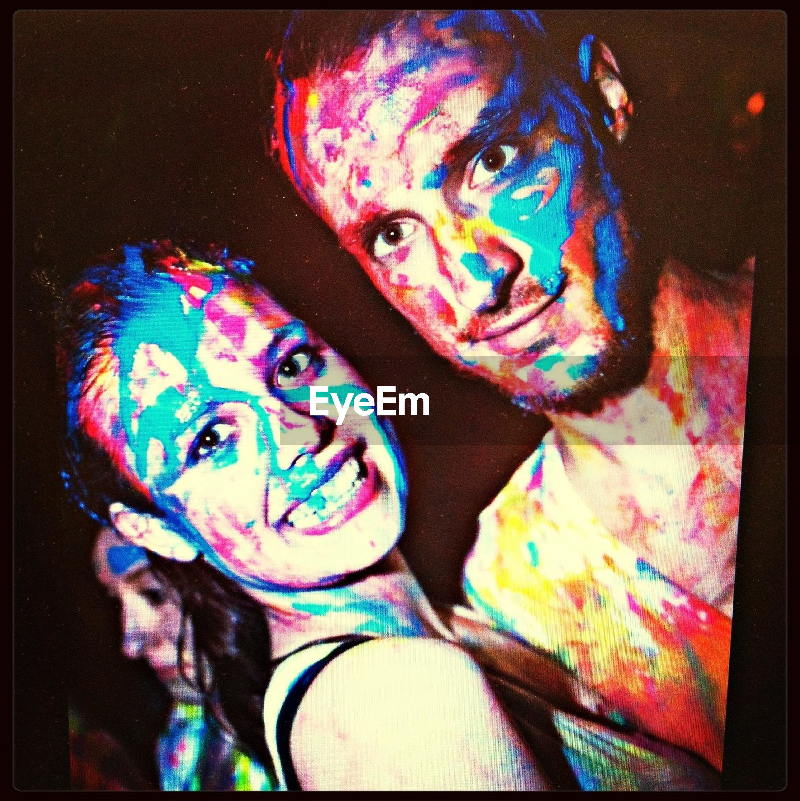 transfer print, art, art and craft, creativity, auto post production filter, human representation, indoors, animal representation, multi colored, sculpture, craft, statue, graffiti, close-up, design, blue, painting, high angle view