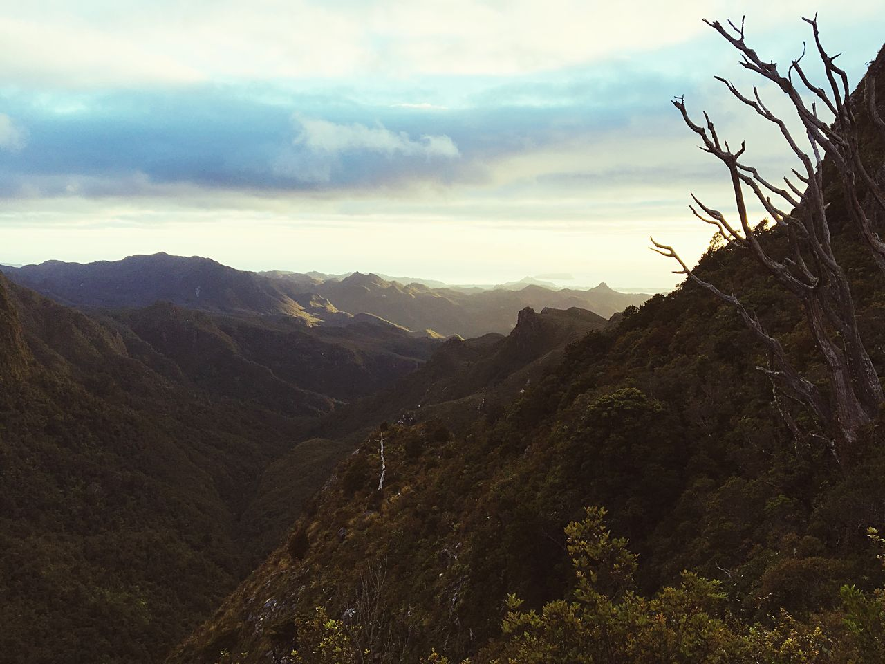 mountain, nature, beauty in nature, sky, tranquil scene, cloud - sky, tranquility, outdoors, scenics, landscape, no people, day