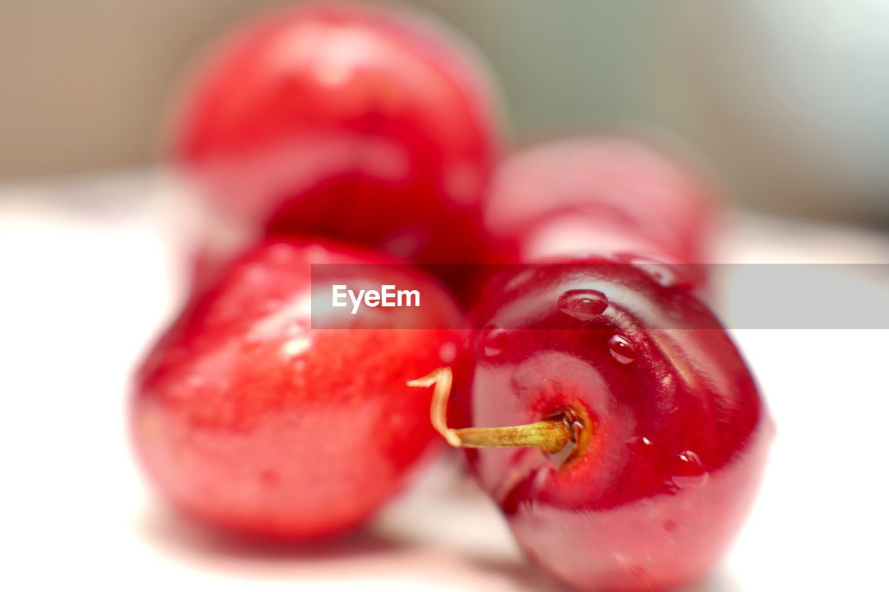 red, food, food and drink, freshness, close-up, fruit, healthy eating, wellbeing, no people, selective focus, still life, indoors, focus on foreground, day, nature, plant, organic, ripe, cherry