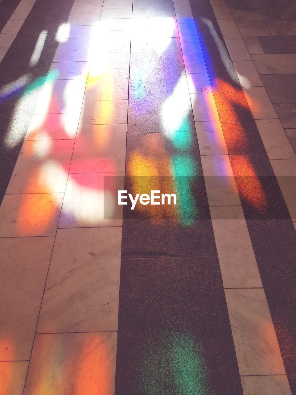 multi colored, flooring, tiled floor, indoors, no people, day, close-up