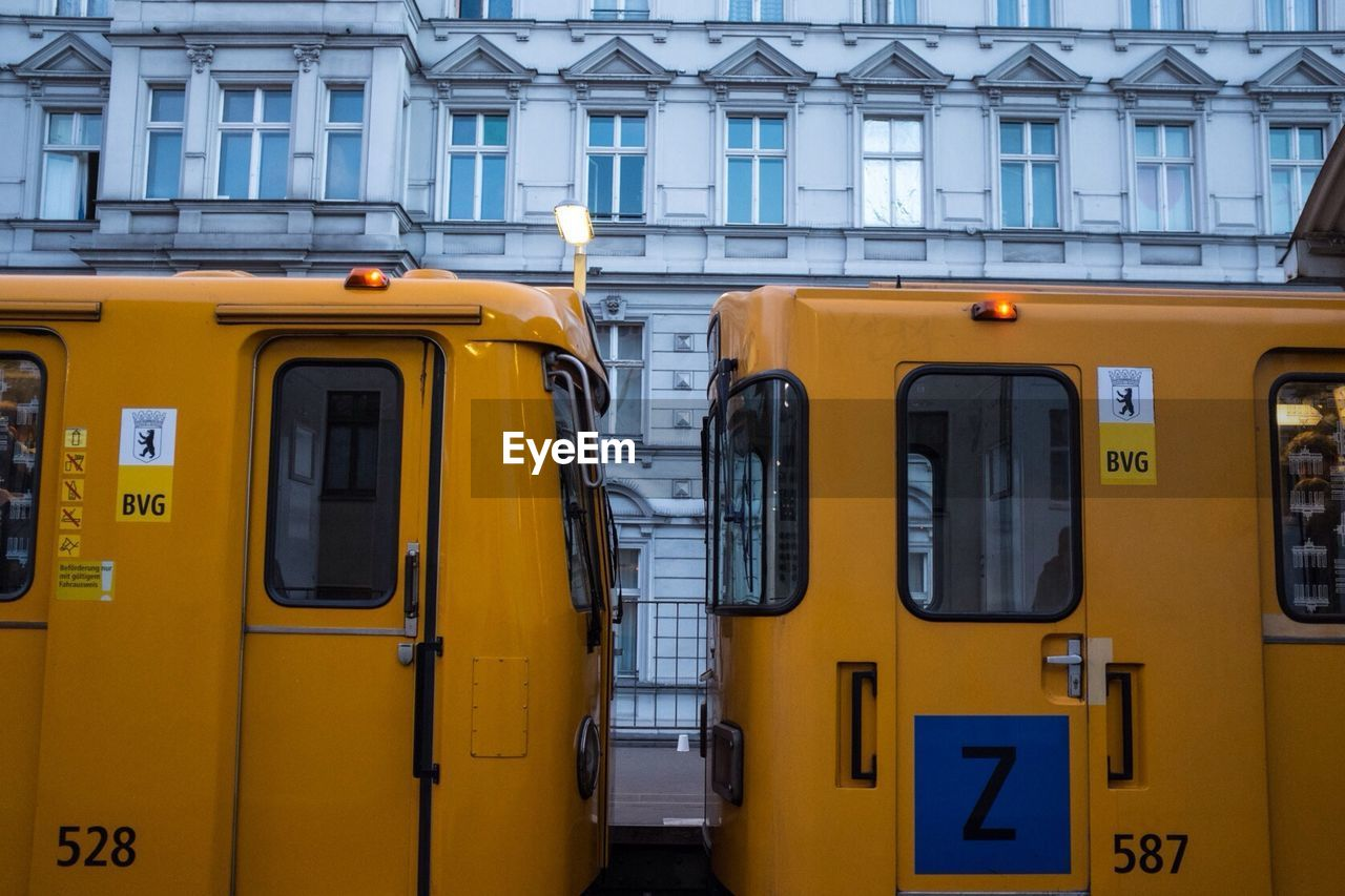 window, yellow, no people, built structure, architecture, day, transportation, building exterior, outdoors