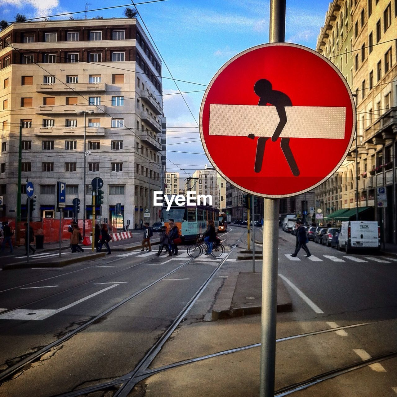 ROAD SIGNS IN CITY