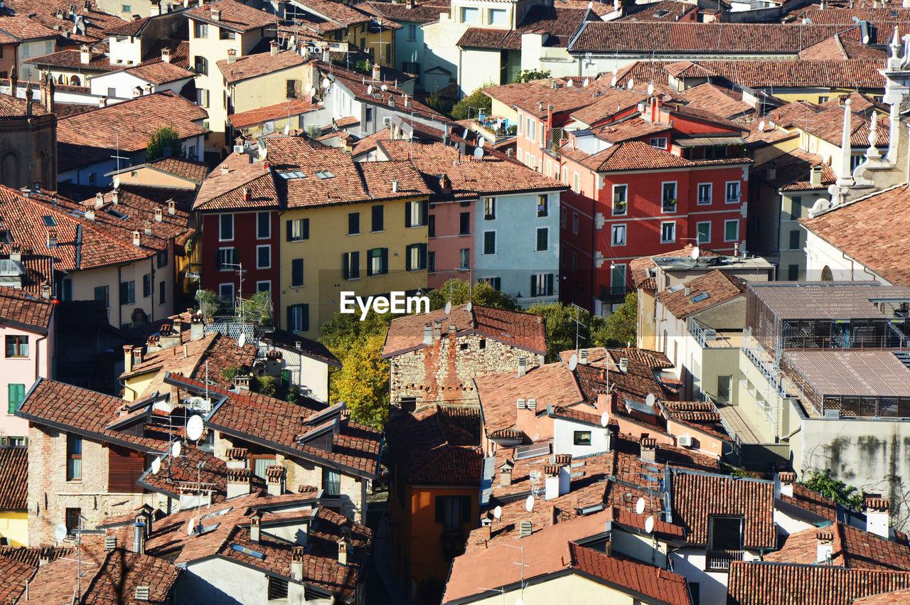 High Angle View Of Brescia