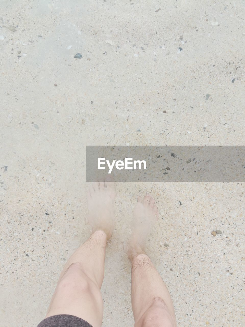 low section, real people, human leg, human body part, beach, one person, sand, personal perspective, human foot, shore, barefoot, outdoors, day, lifestyles, standing, leisure activity, high angle view, women, close-up, nature, people