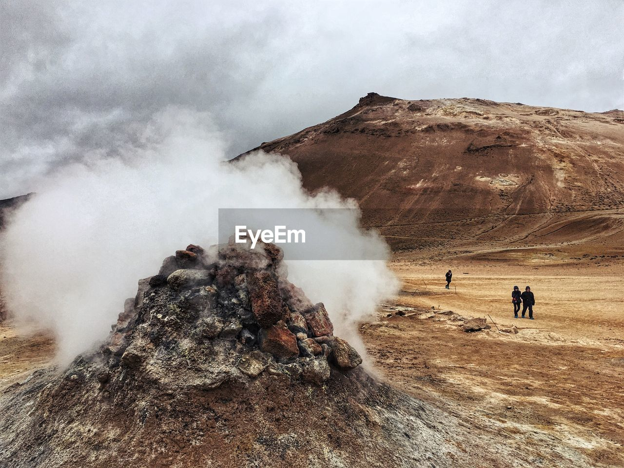 Dramatic Landscape In Iceland
