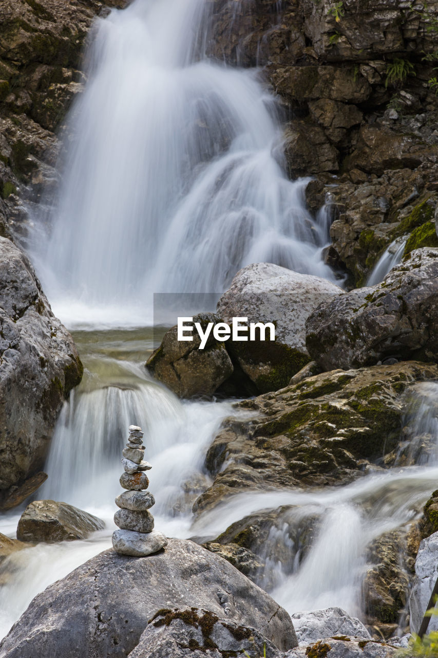 scenics - nature, waterfall, motion, flowing water, water, rock, long exposure, solid, rock - object, beauty in nature, blurred motion, nature, no people, forest, flowing, land, environment, rock formation, non-urban scene, outdoors, power in nature, falling water, rainforest