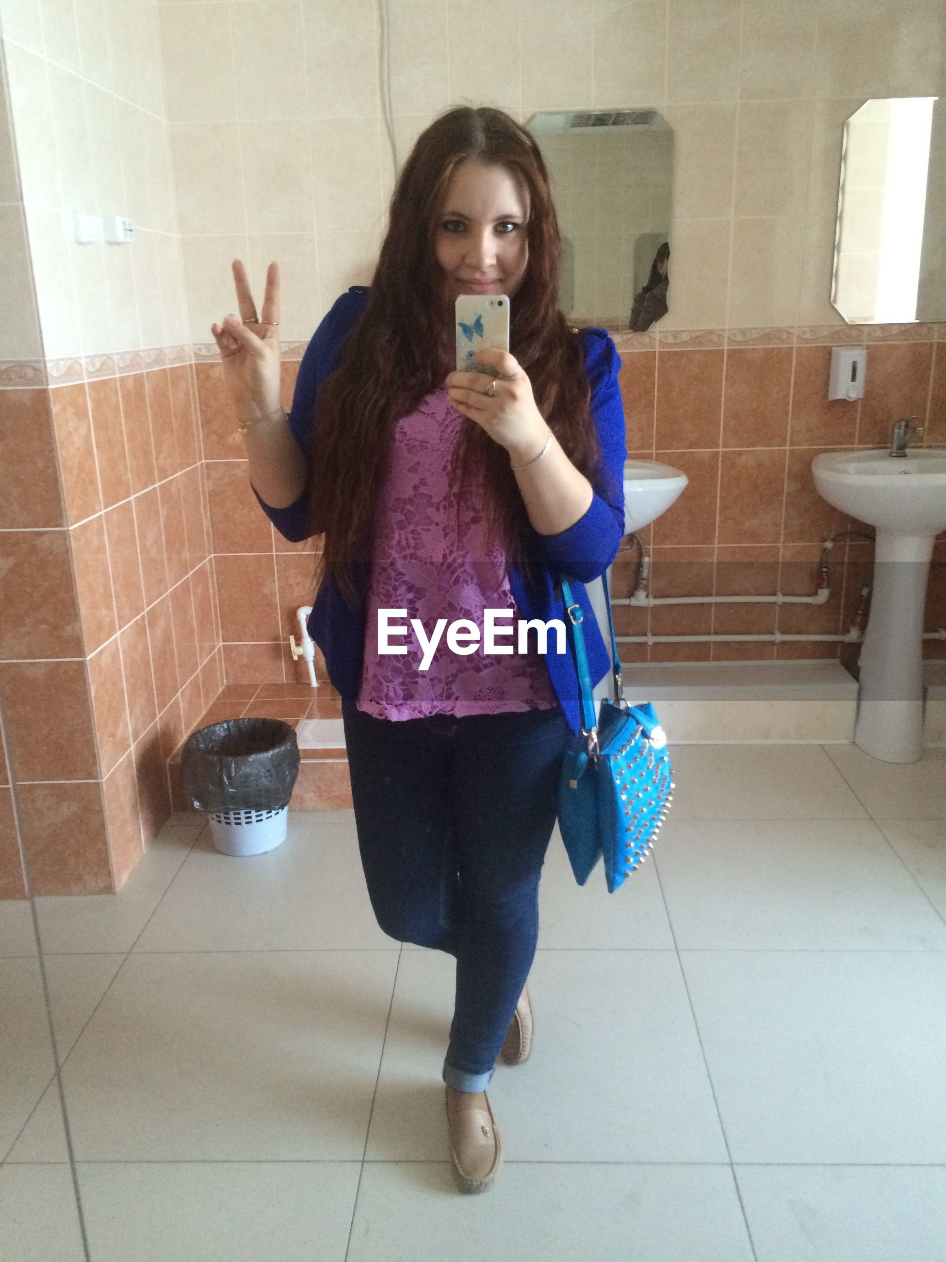 full length, indoors, lifestyles, childhood, leisure activity, person, tiled floor, casual clothing, flooring, girls, bathroom, sitting, elementary age, high angle view, boys, playing, fun, playful