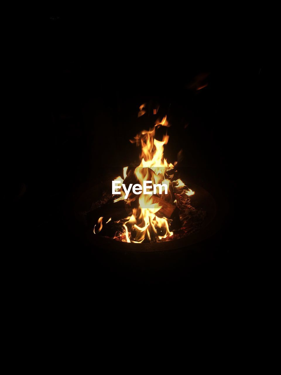 burning, flame, heat - temperature, night, no people, campfire, dark, bonfire, fire pit, outdoors, close-up, nature