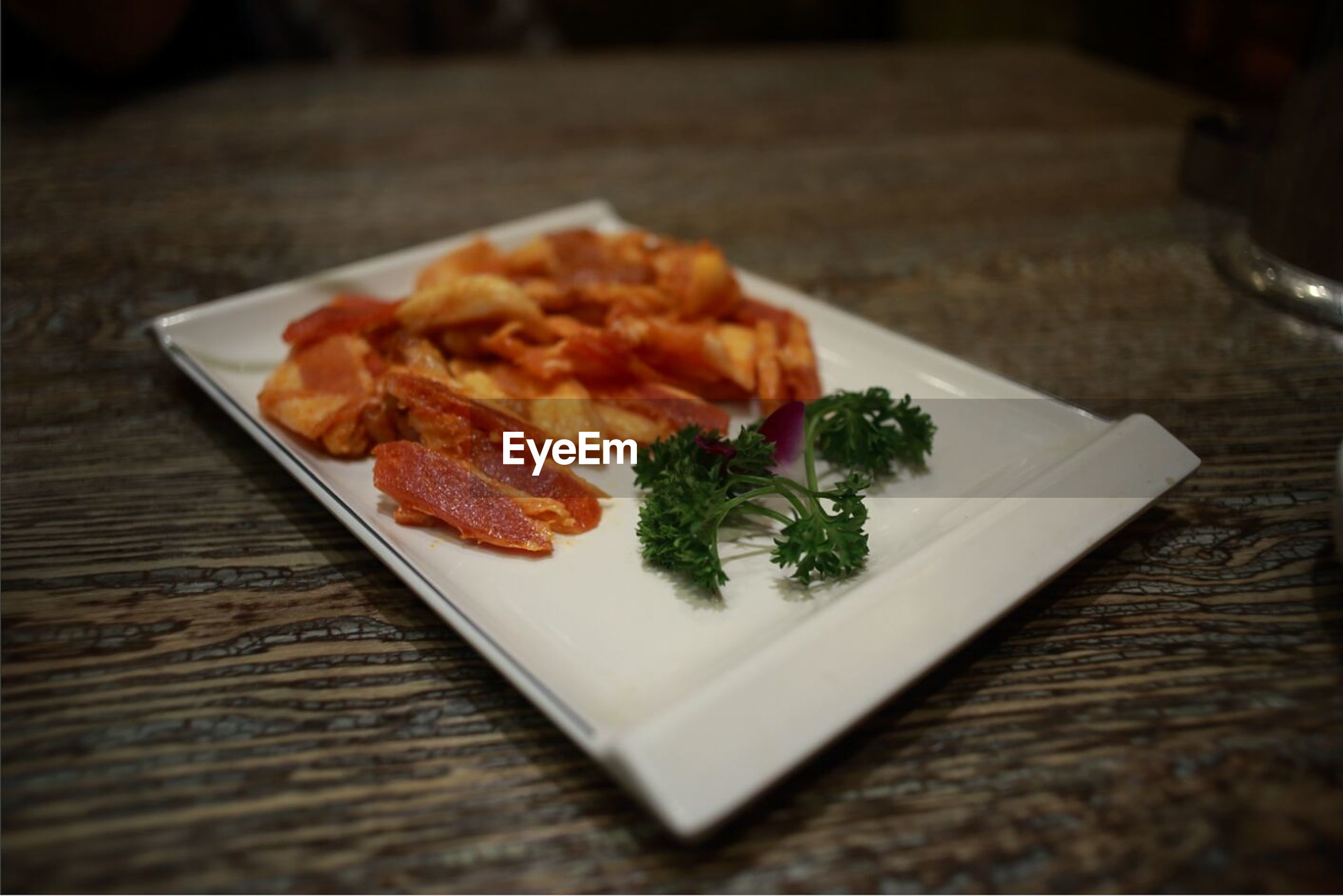 food and drink, food, indoors, freshness, table, ready-to-eat, plate, still life, meal, close-up, serving size, healthy eating, selective focus, indulgence, meat, restaurant, served, cooked, vegetable, no people