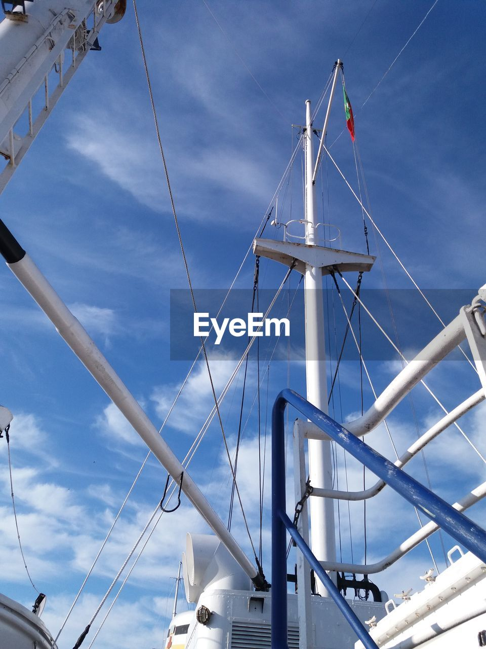 Tall ship mast ... Cloud - Sky Low Angle View Nauticallife Nautical Vessel Transportation Travel Ship Vacation Board Recreation  Sealife Nautical Theme Weather Air Blue Portugal