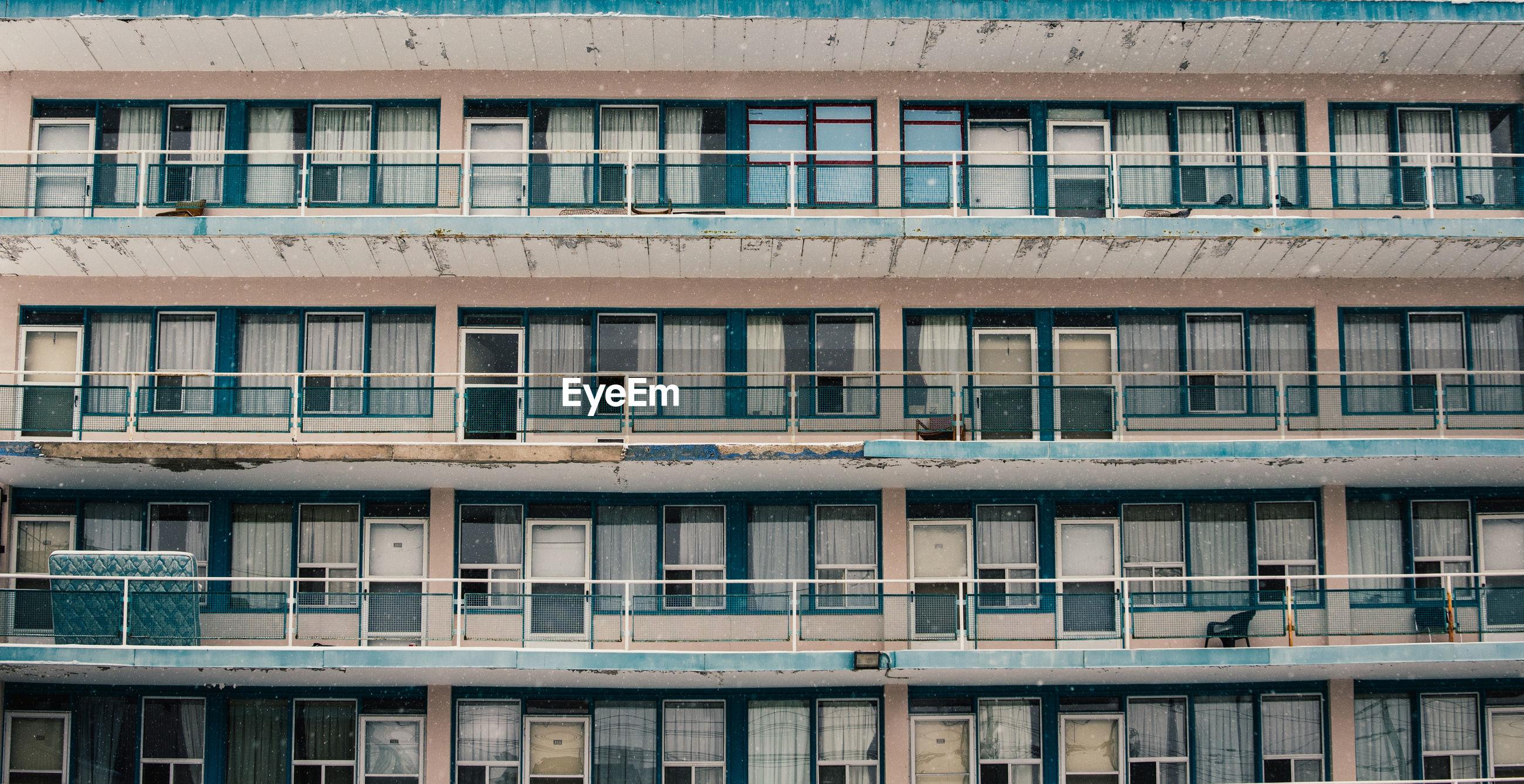 Full frame shot of hotel