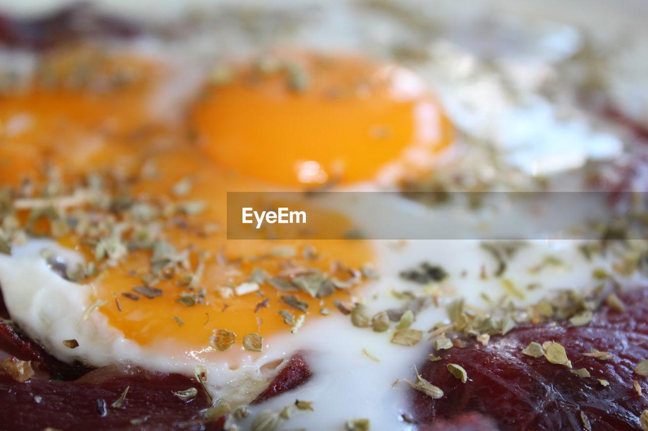 Close-up of egg