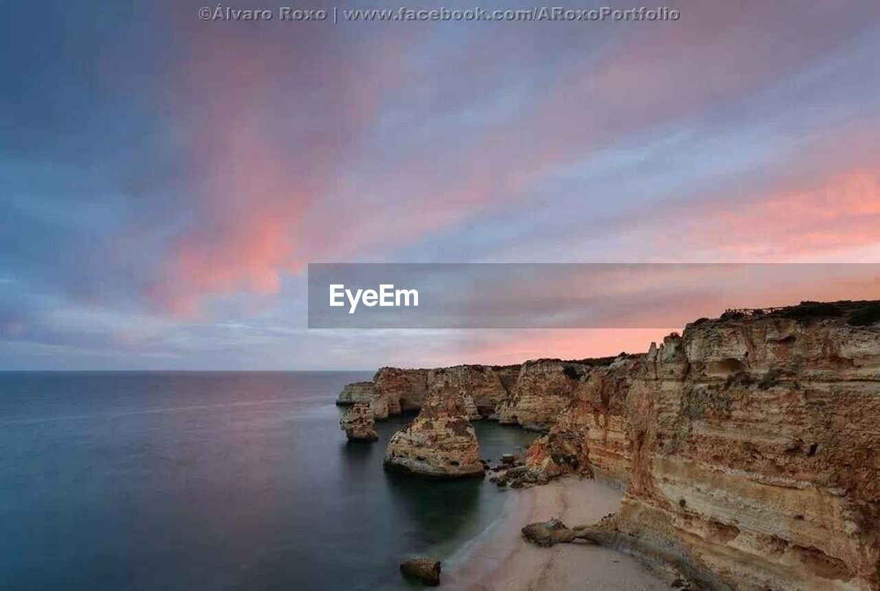 scenics, tranquil scene, nature, sky, beauty in nature, sea, tranquility, water, no people, sunset, outdoors, horizon over water, day