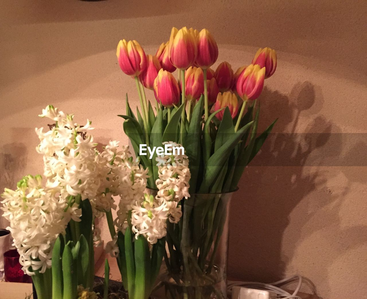flower, bouquet, vase, tulip, freshness, fragility, flower head, nature, beauty in nature, indoors, petal, no people, arrangement, close-up, day