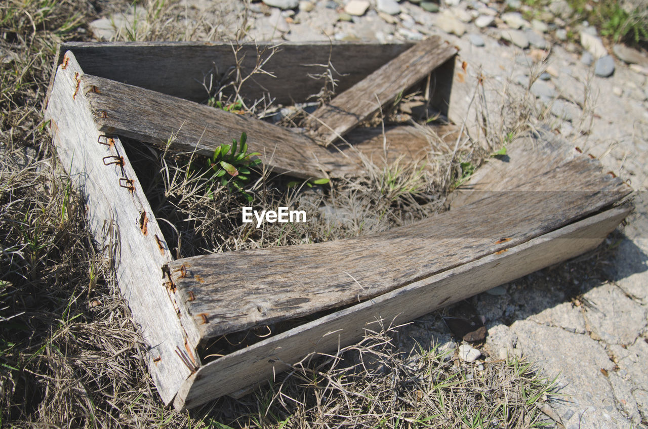 wood - material, no people, abandoned, log, day, outdoors, timber, tree stump, grass, close-up
