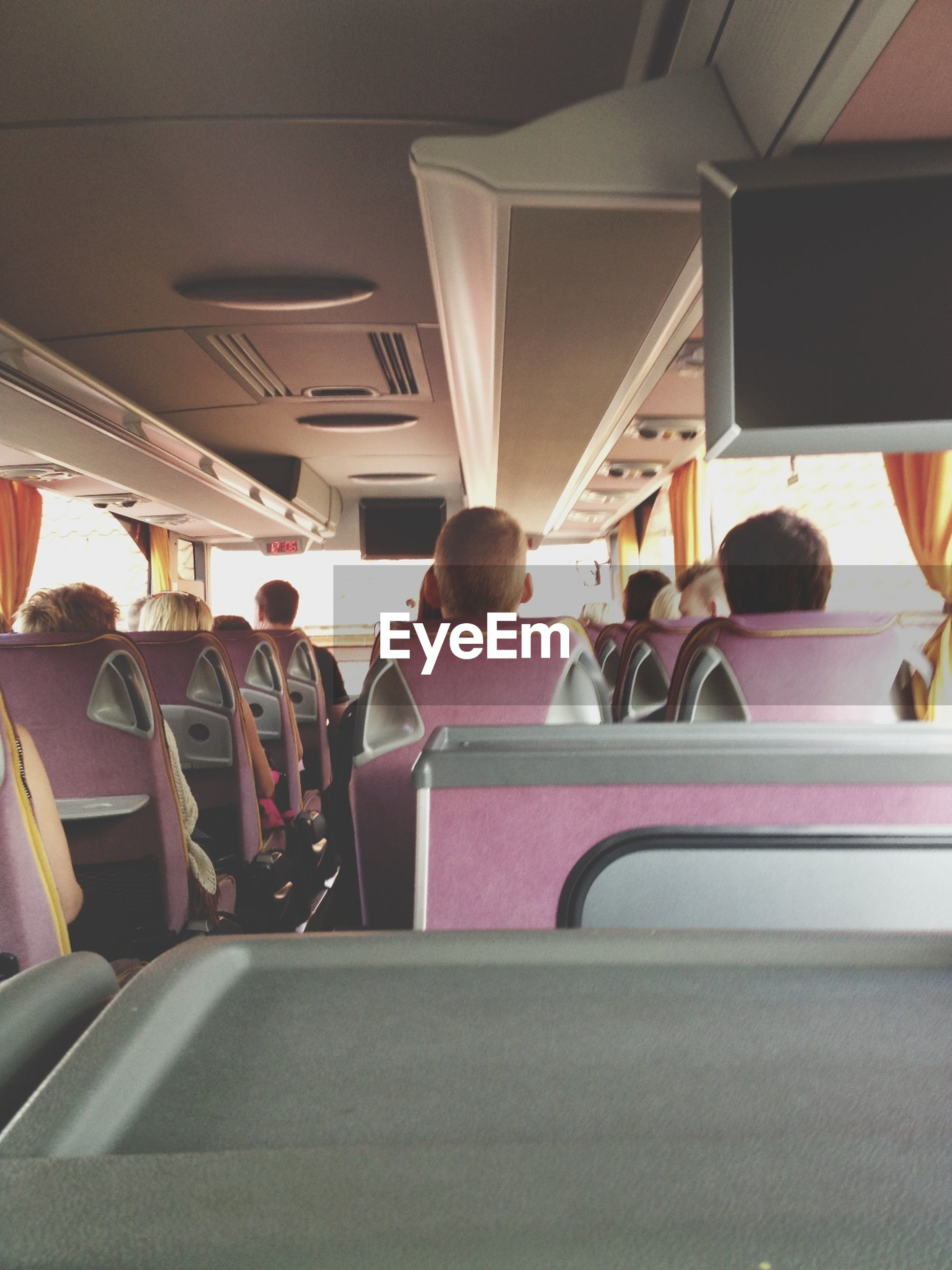 indoors, transportation, chair, architecture, built structure, seat, ceiling, vehicle seat, mode of transport, sitting, empty, in a row, absence, incidental people, men, window, vehicle interior, interior, lighting equipment