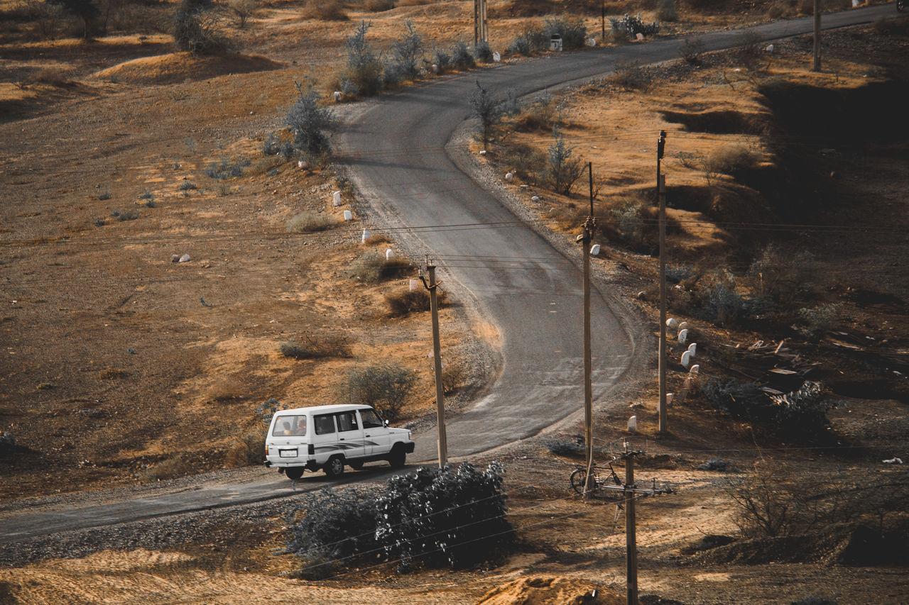 Off-Road Vehicle On Road