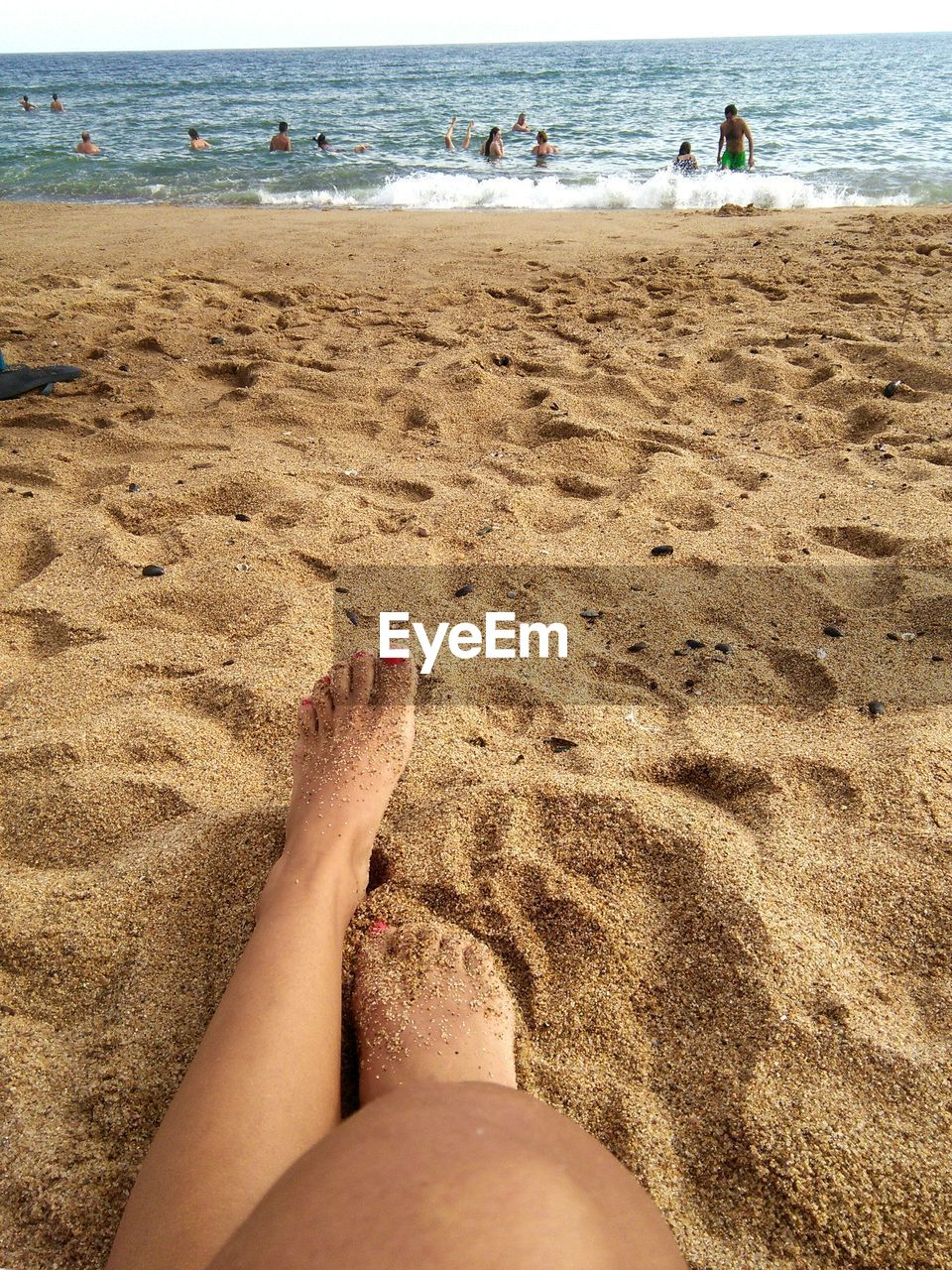 beach, sand, barefoot, sea, water, shore, human leg, real people, human body part, lifestyles, vacations, leisure activity, low section, day, summer, outdoors, women, nature, one person, wave, sky, people, adult, adults only