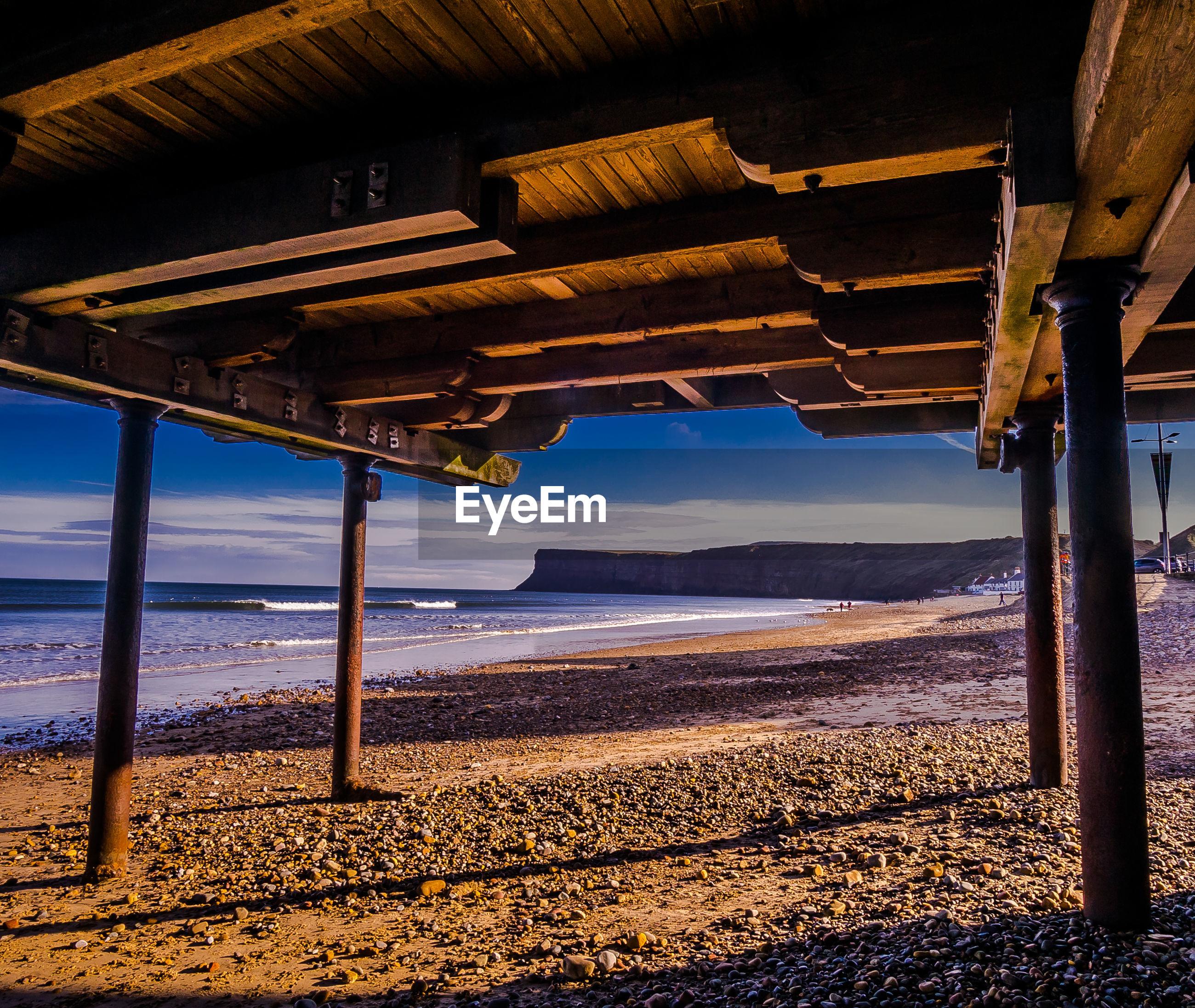 FULL FRAME SHOT OF BEACH