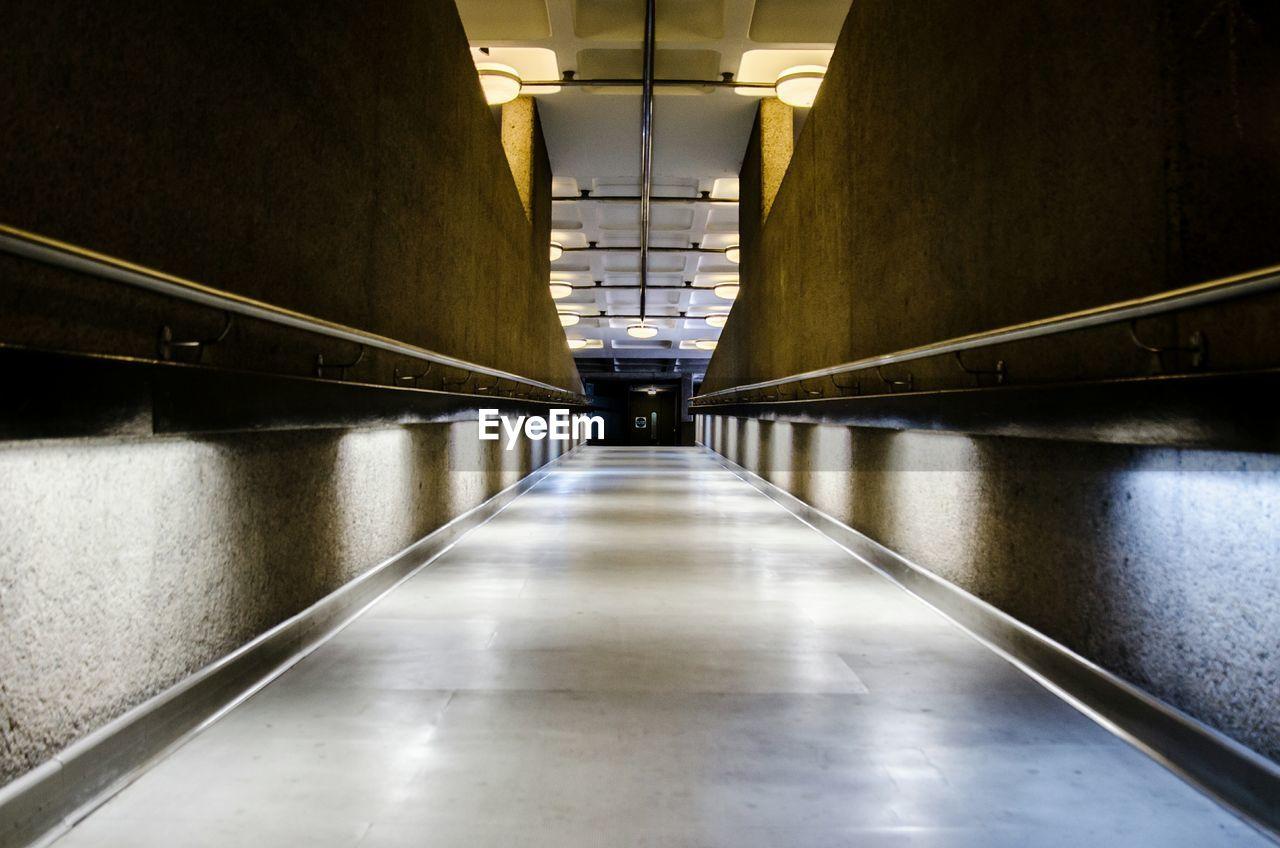 Empty Corridor In Barbican Centre