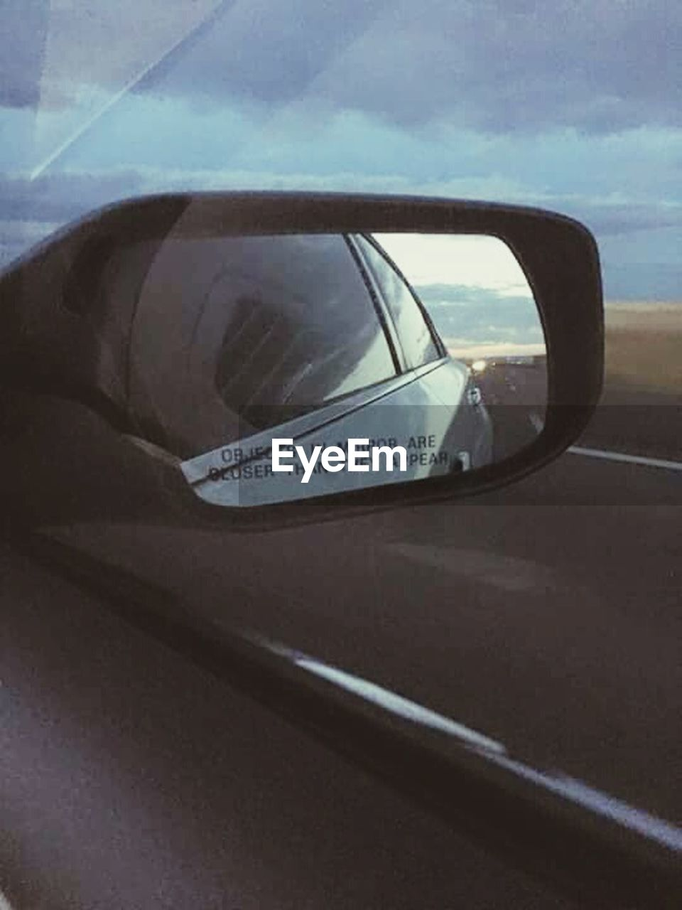 car, transportation, reflection, day, outdoors, road, no people, close-up, sky