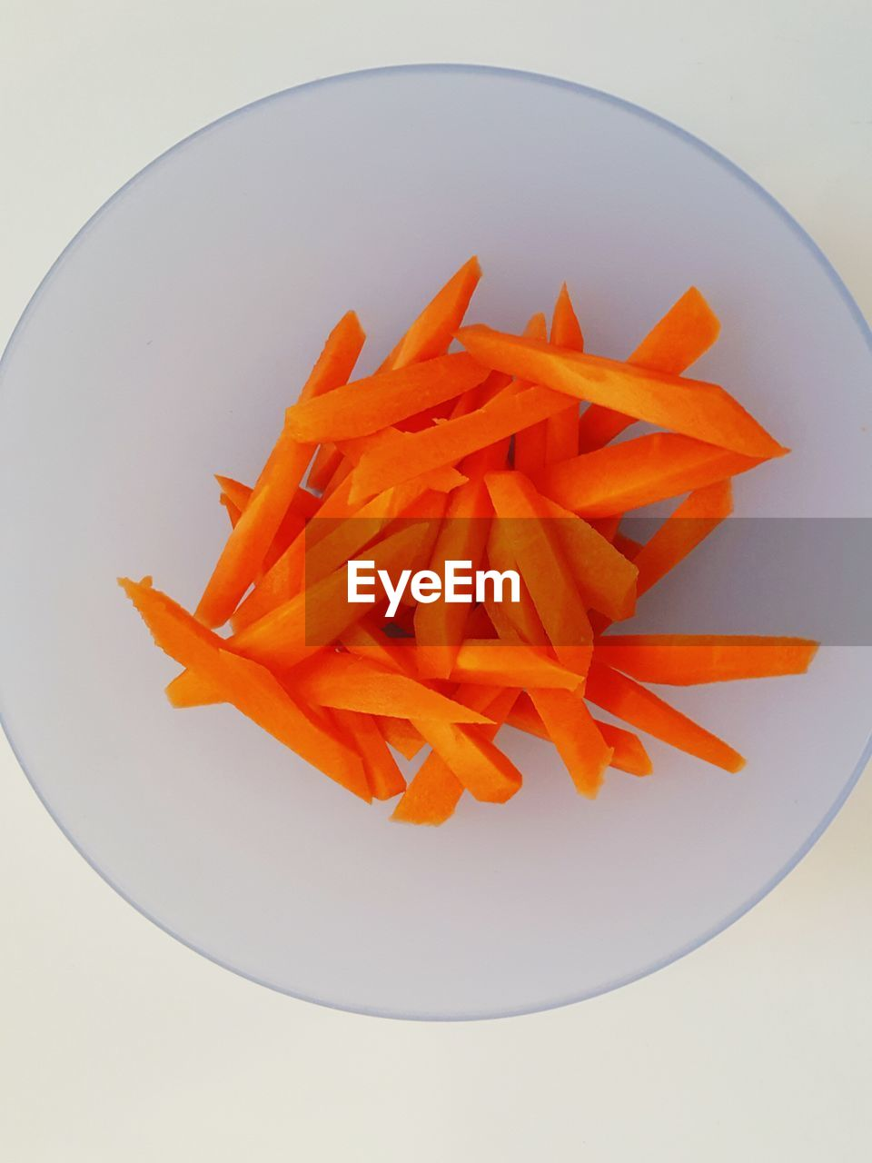 High Angle View Of French Fries
