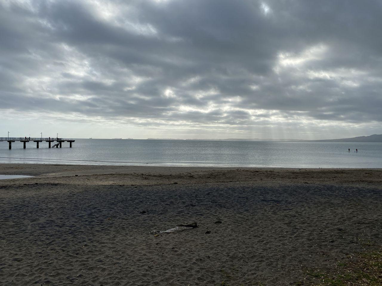 sea, beach, water, sky, land, cloud - sky, sand, scenics - nature, beauty in nature, horizon over water, horizon, tranquil scene, tranquility, nature, non-urban scene, idyllic, day, outdoors