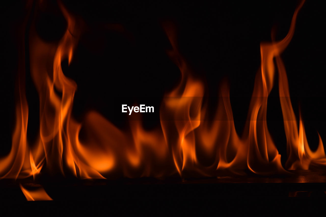 burning, flame, heat - temperature, orange color, glowing, night, no people, close-up, motion, outdoors, bonfire, nature