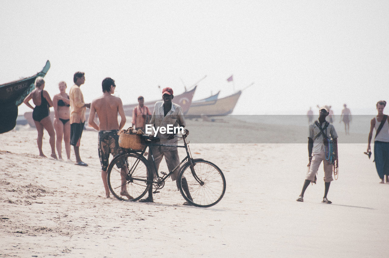 PEOPLE AT BEACH