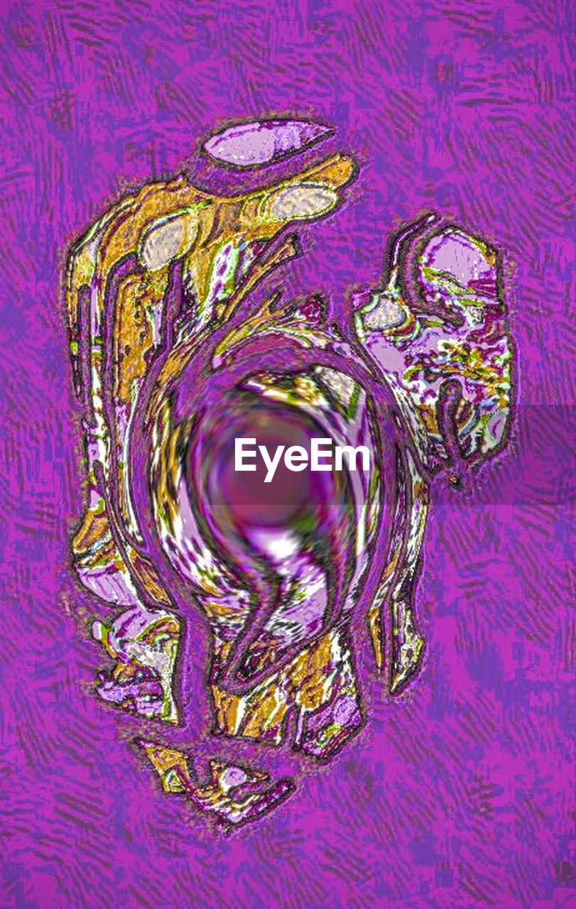 purple, indoors, no people, close-up