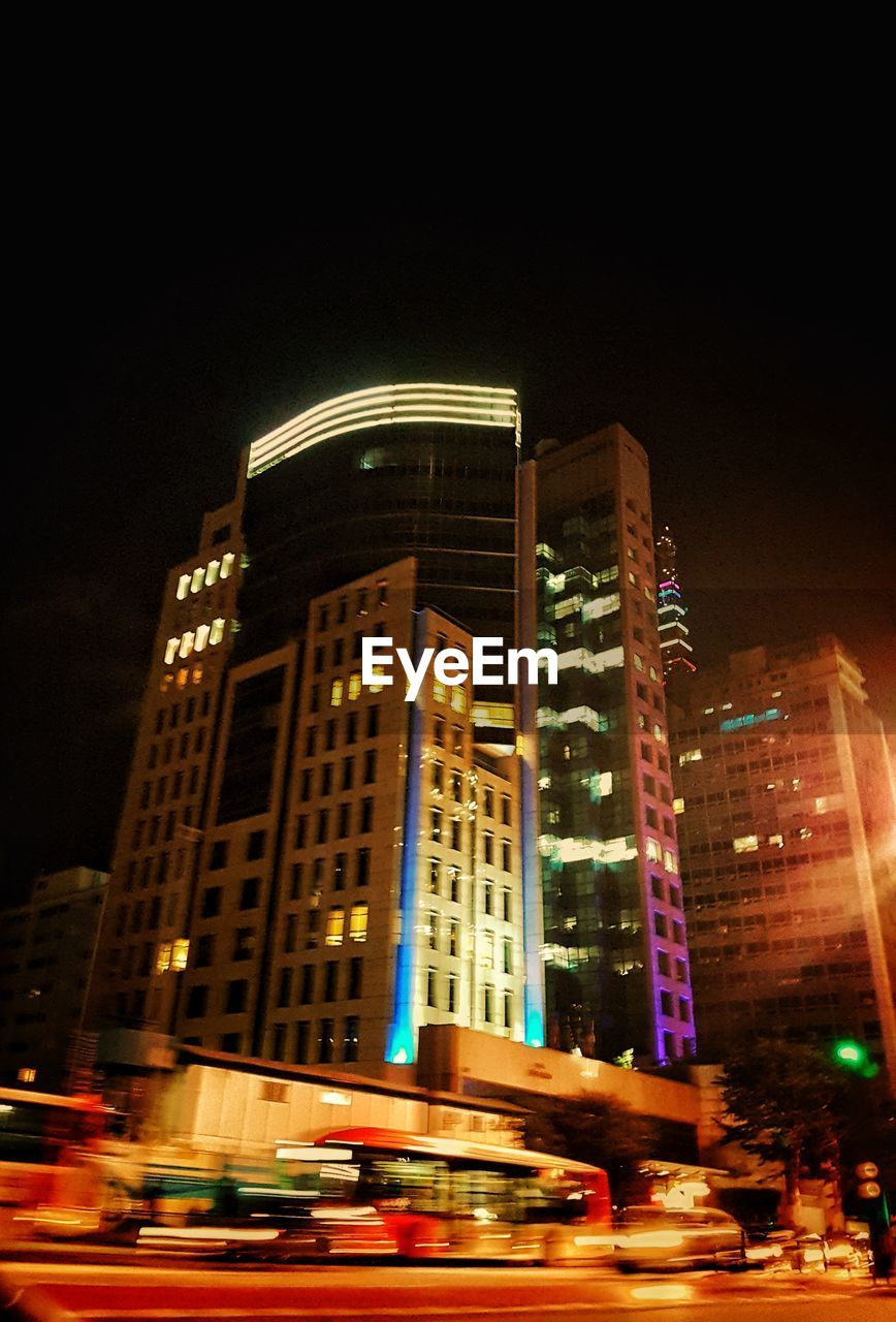 night, illuminated, architecture, building exterior, built structure, city, skyscraper, no people, outdoors, modern, sky