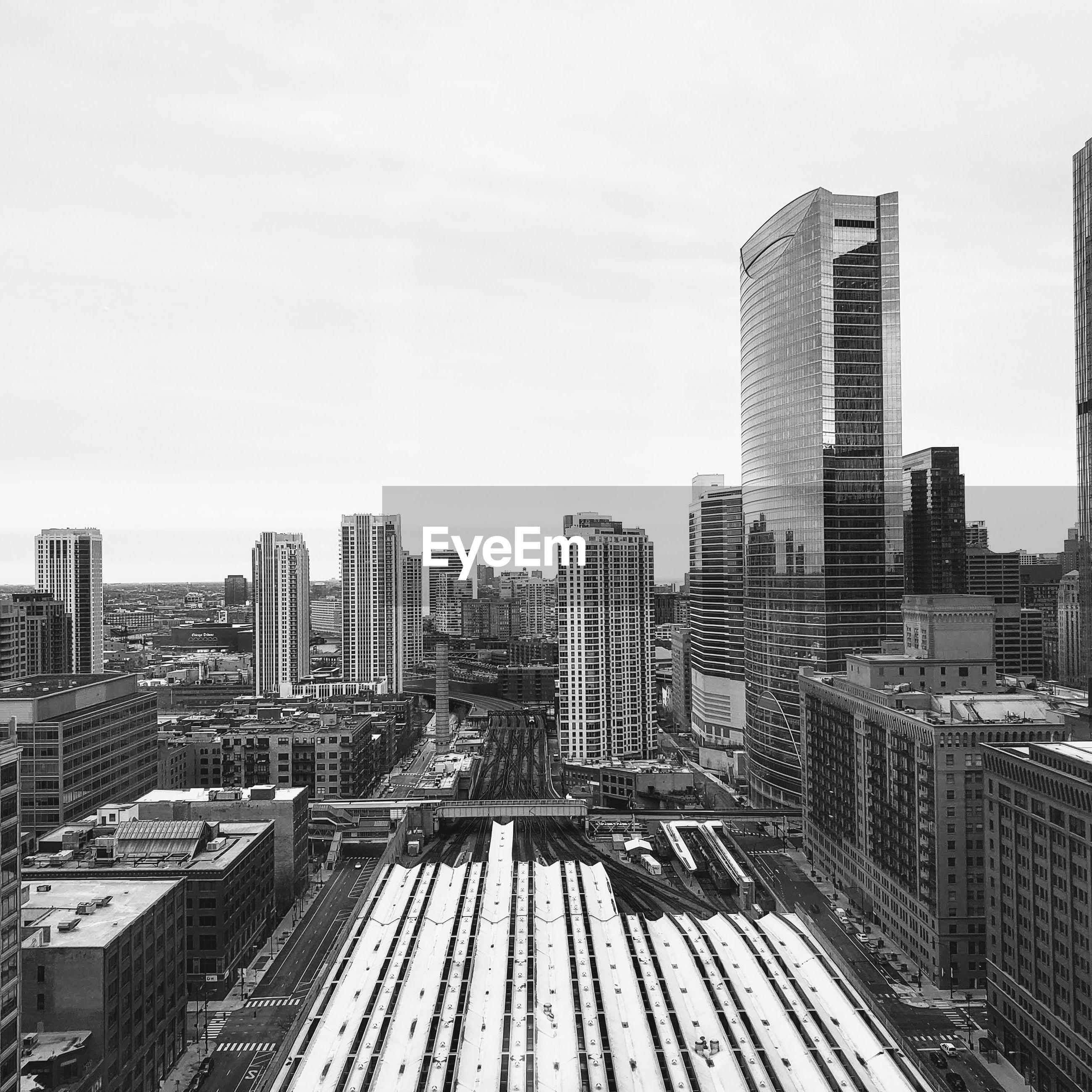 A city above ground