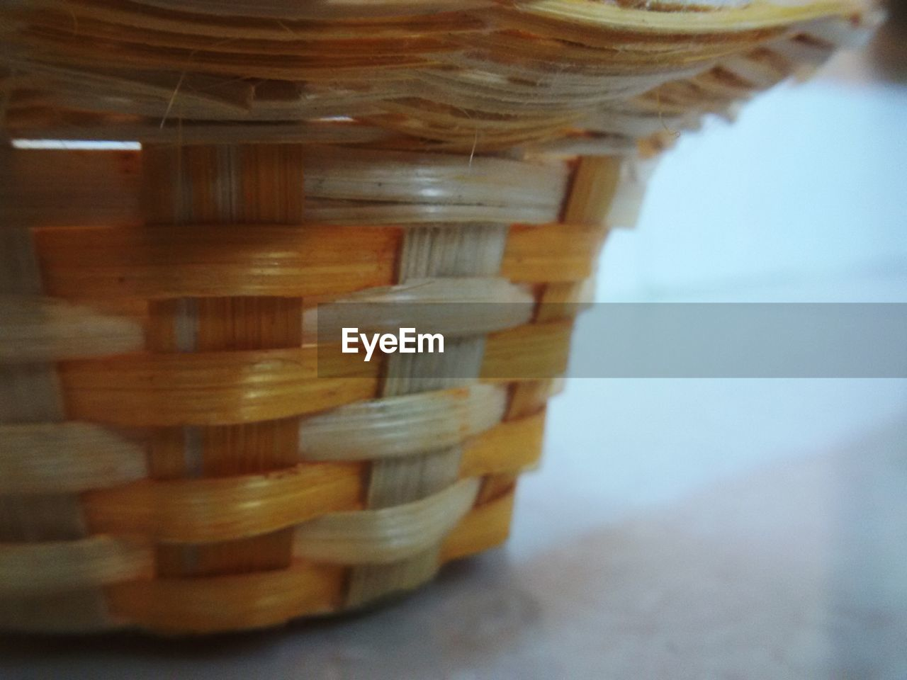 basket, wood - material, no people, close-up, focus on foreground, indoors, day, sky