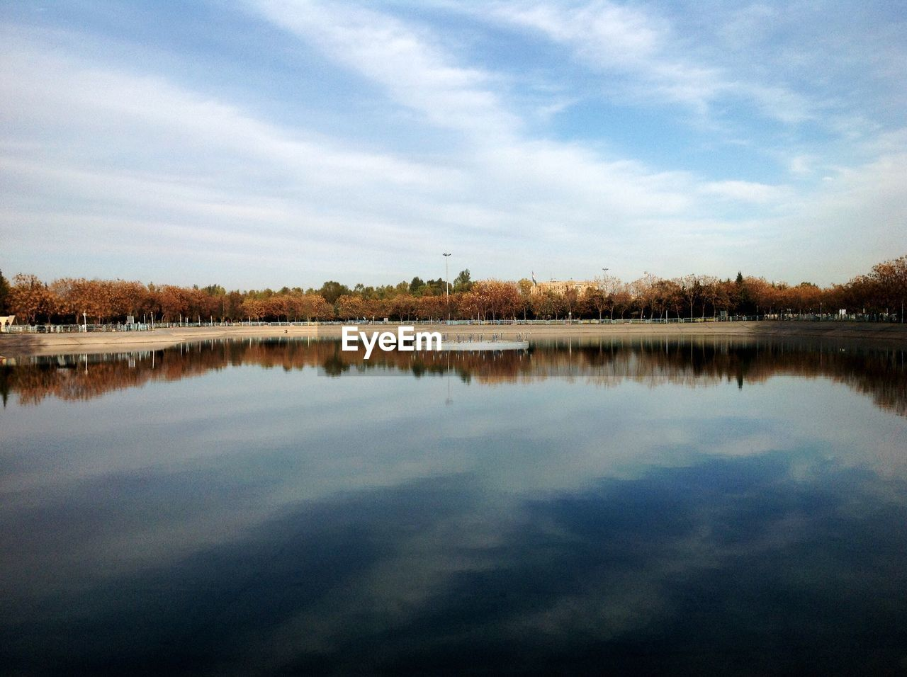 sky, cloud - sky, water, tranquility, lake, reflection, tranquil scene, scenics - nature, beauty in nature, tree, waterfront, nature, no people, plant, day, non-urban scene, idyllic, outdoors
