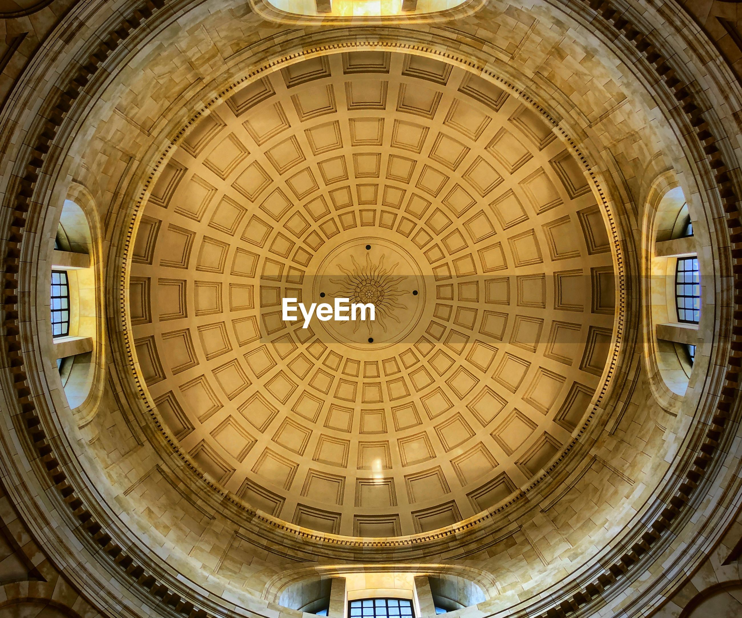 LOW ANGLE VIEW OF DOME BUILDING