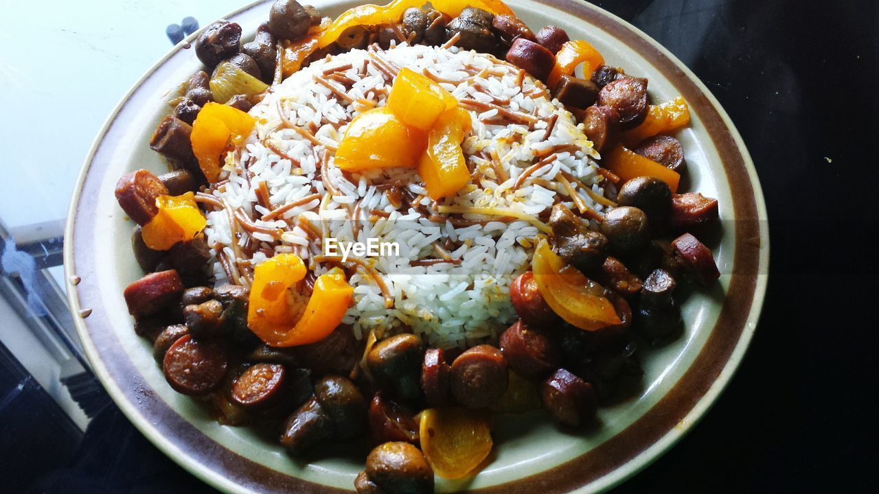 food and drink, healthy eating, food, freshness, high angle view, no people, bowl, ready-to-eat, indoors, close-up, nut - food, day