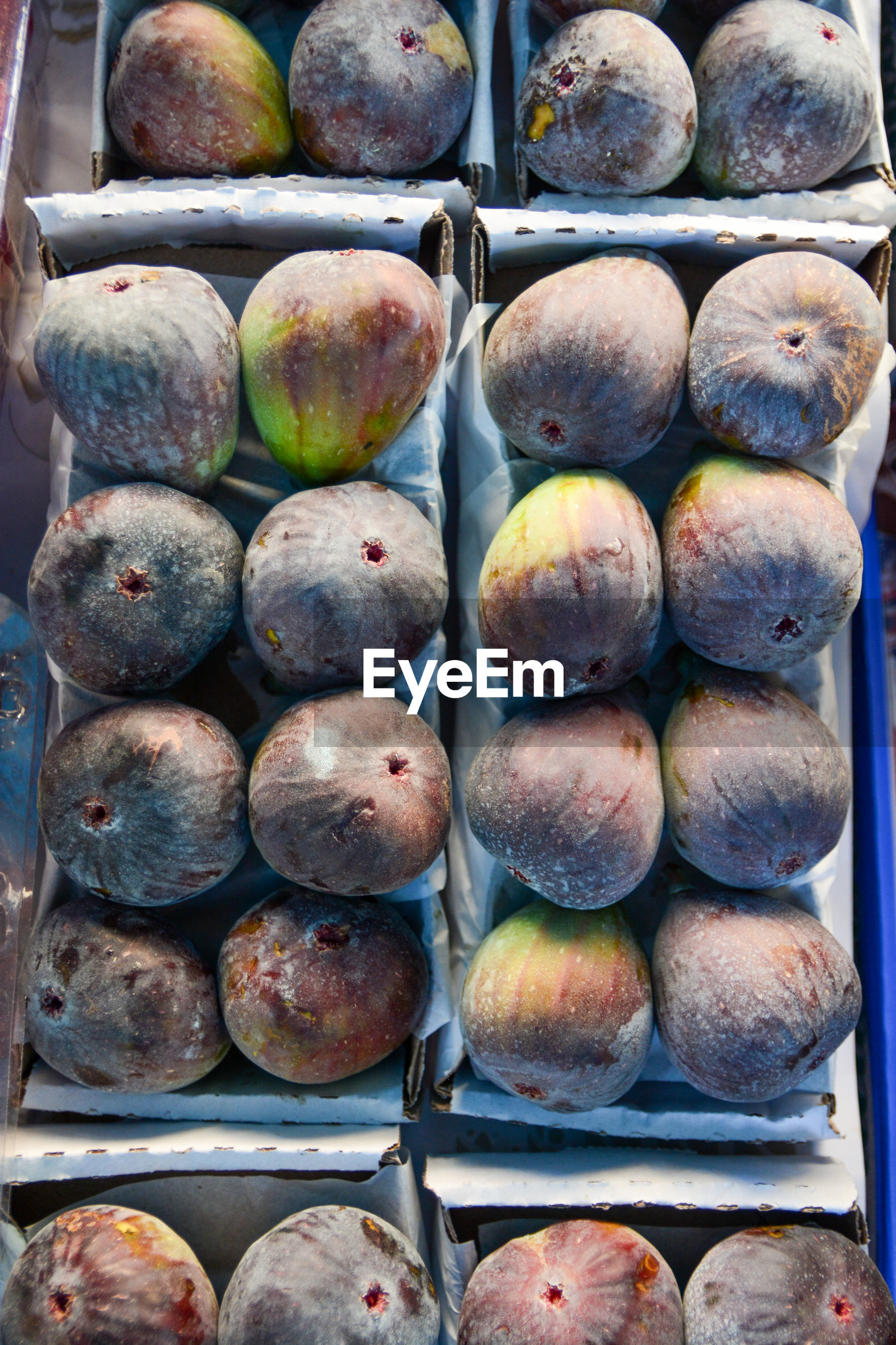 Full frame shot of fig for sale at market stall