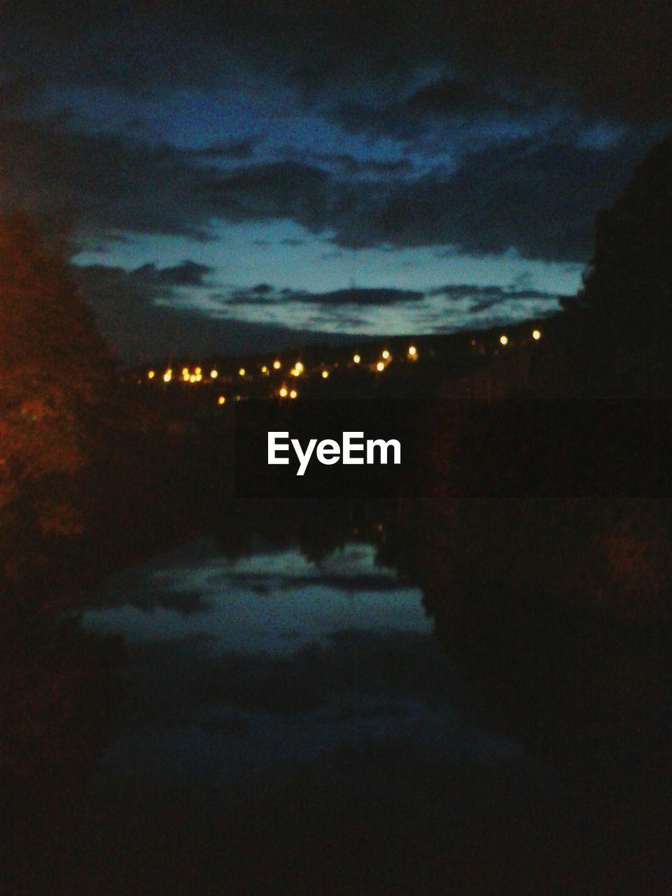 night, sky, dark, cloud - sky, illuminated, no people, nature, outdoors, scenics, storm cloud, beauty in nature
