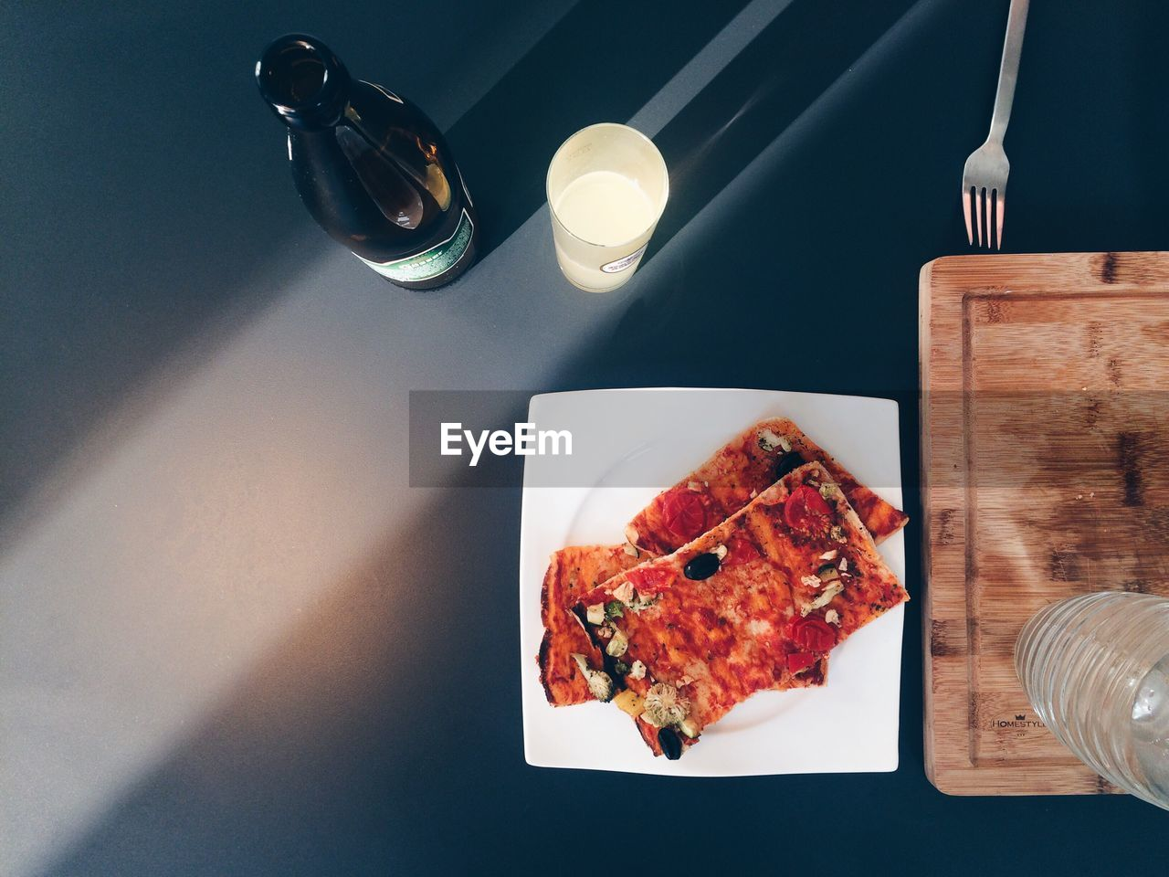 table, food and drink, plate, food, high angle view, indoors, no people, ready-to-eat, healthy eating, freshness, day, close-up